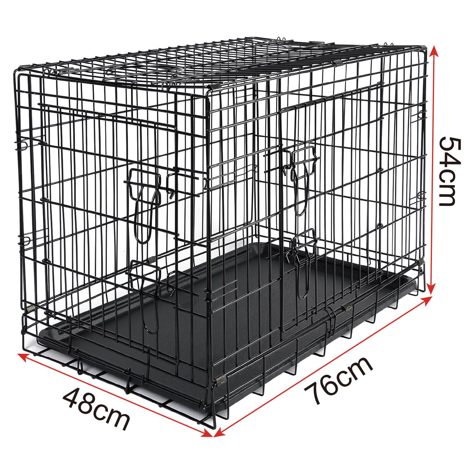 faltbare hundebox hundetransportbox metall transportbox katzen m ht2030m1 ebay. Black Bedroom Furniture Sets. Home Design Ideas