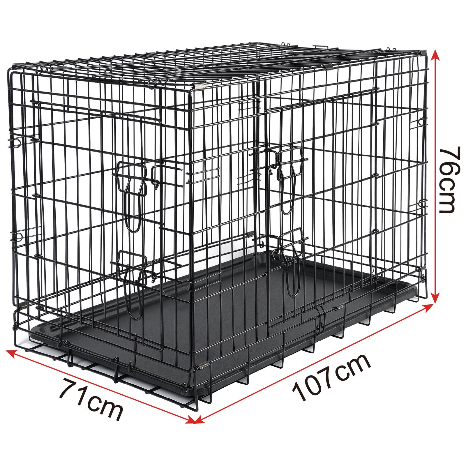 faltbare hundetransportbox hundebox metall reisebox. Black Bedroom Furniture Sets. Home Design Ideas