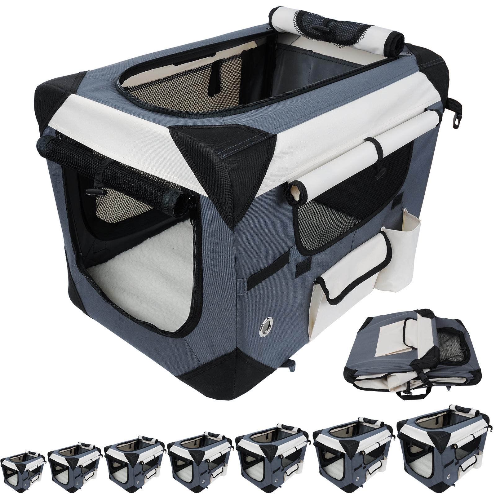 caisse de transport pliable pour chien sac de transport de. Black Bedroom Furniture Sets. Home Design Ideas