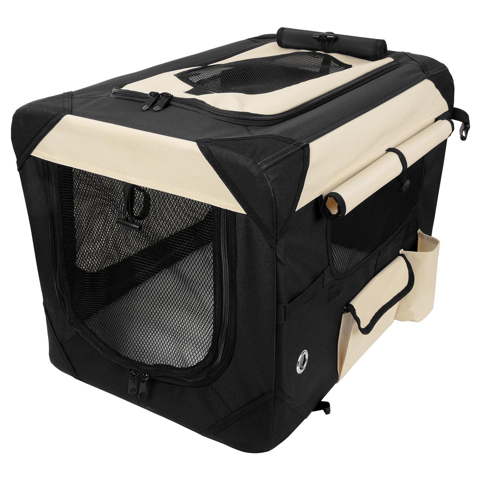 faltbare hundebox transportbox autotransportbox reisebox. Black Bedroom Furniture Sets. Home Design Ideas