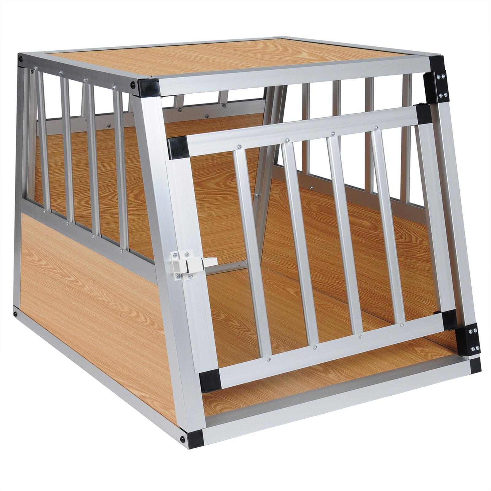 chien cage voiture cage de chien chenil en aluminium de. Black Bedroom Furniture Sets. Home Design Ideas