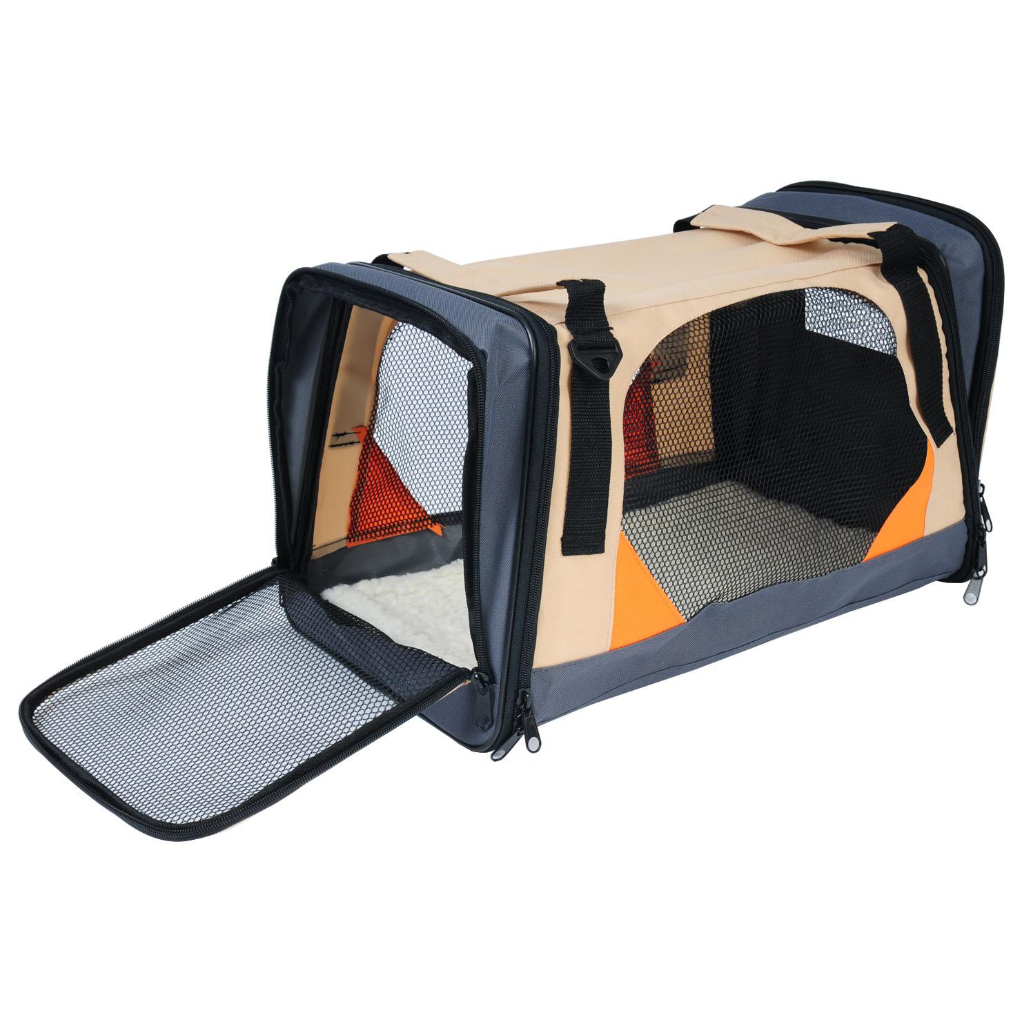 cage de bo te de voiture pour animal caisse de transport pliable pour chien f218 ebay. Black Bedroom Furniture Sets. Home Design Ideas