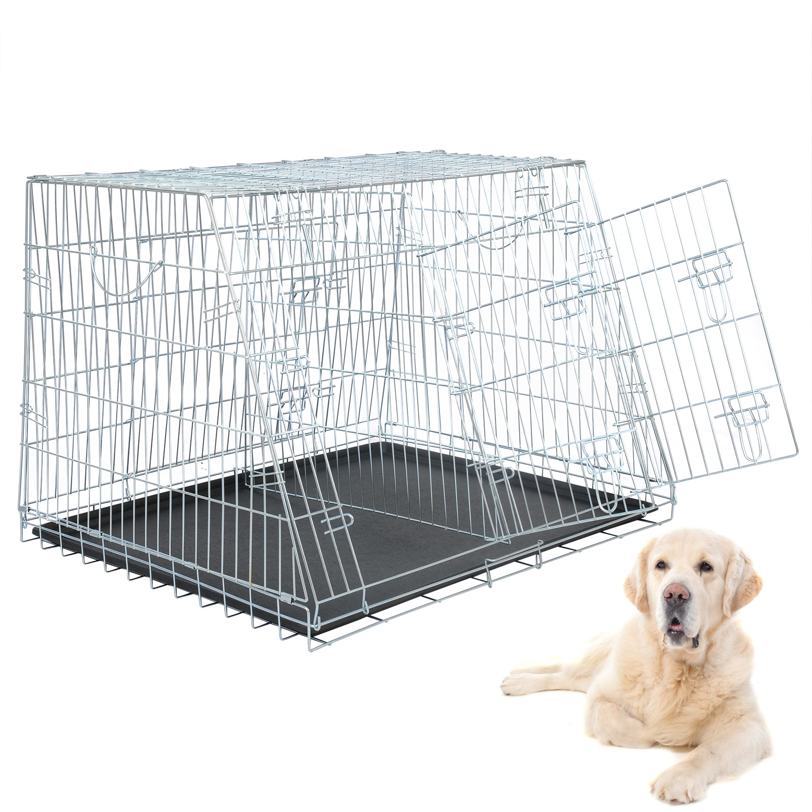 faltbar hundetransportbox hundebox auto hundek fig