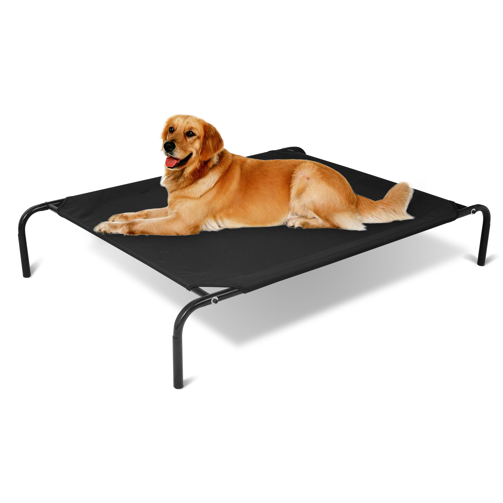 lit sur lev pour chien chat de lit lit d 39 animal domestique chien couchage f222 ebay. Black Bedroom Furniture Sets. Home Design Ideas