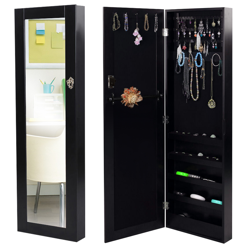 spiegel schmuckschrank wandspiegel schmuckkasten. Black Bedroom Furniture Sets. Home Design Ideas