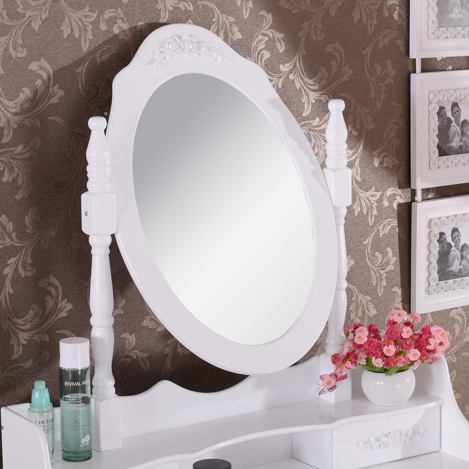 schminktisch kosmetiktisch frisiertisch mit spiegel und. Black Bedroom Furniture Sets. Home Design Ideas