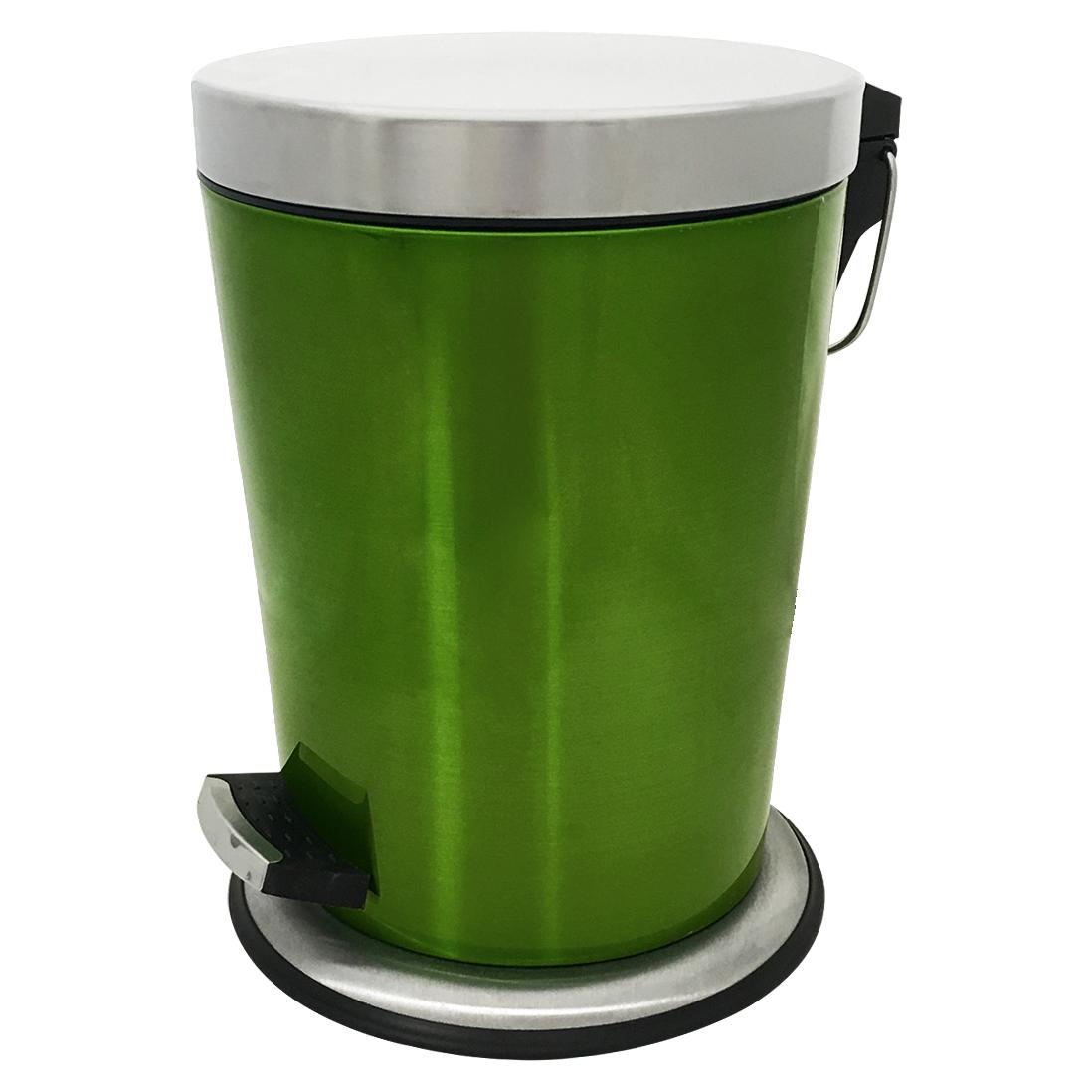Mülleimer Abfalleimer Treteimer Müllsammler Badeimer Edelstahl Küche #463  eBay