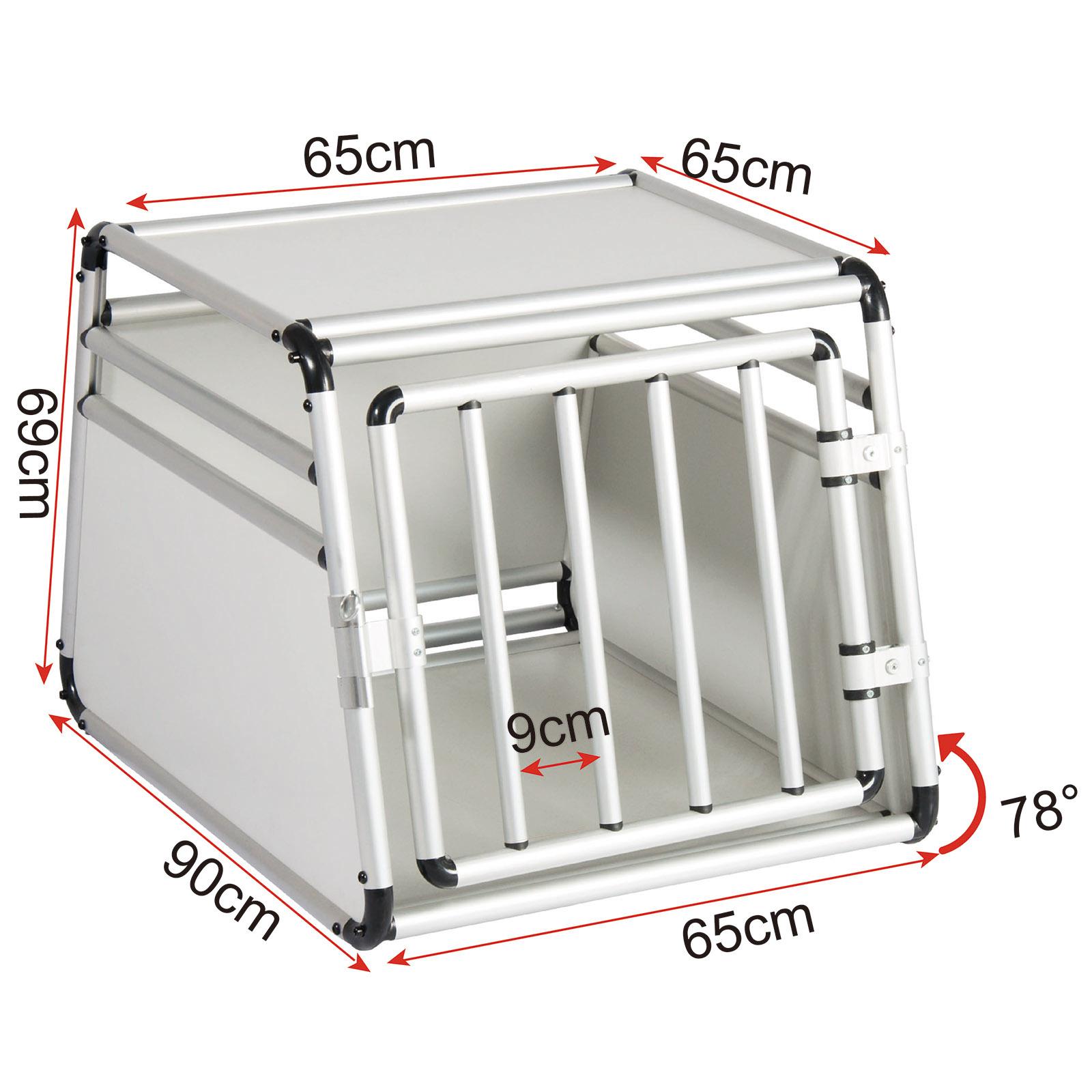 hundebox alubox autotransportbox hund transportbox. Black Bedroom Furniture Sets. Home Design Ideas