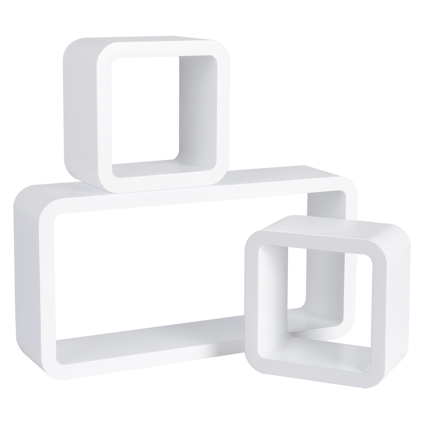 woltu wandregal b cheregal h ngeregal cd cube lounge holz regal retro 460. Black Bedroom Furniture Sets. Home Design Ideas