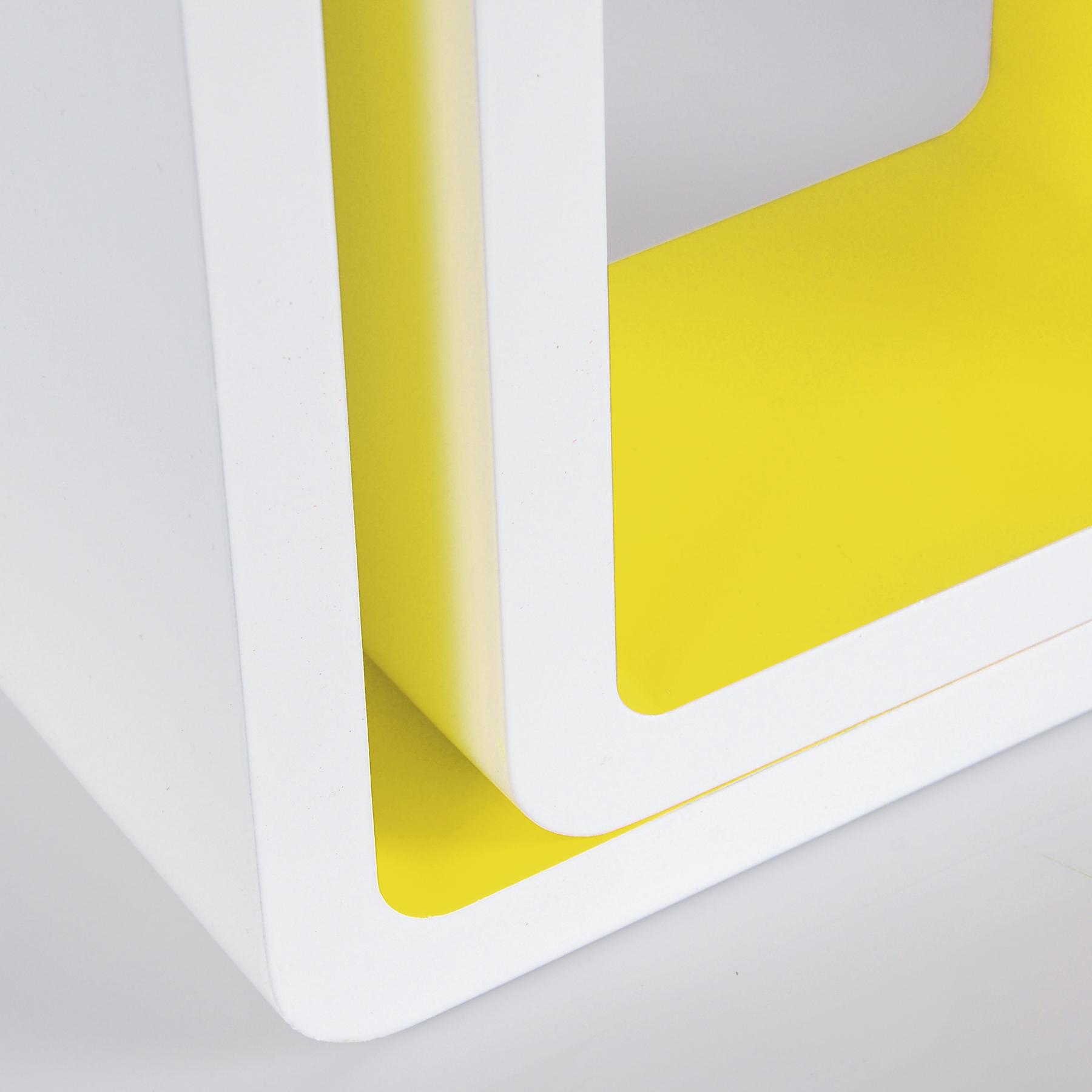 wandregal 3er set b cheregal h ngeregal cd cube regal mdf. Black Bedroom Furniture Sets. Home Design Ideas