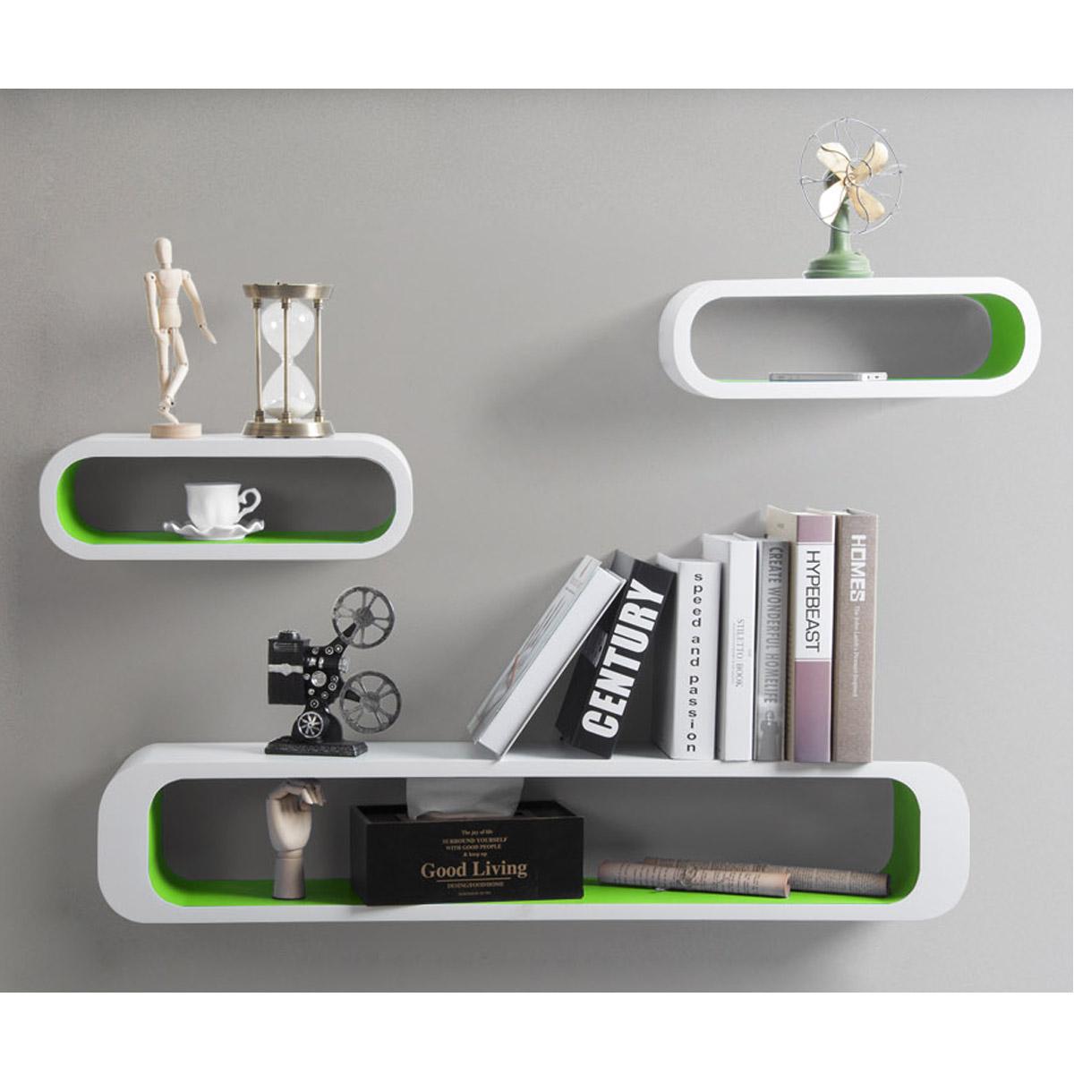 floating wall shelf shelves storage lounge cube mounted. Black Bedroom Furniture Sets. Home Design Ideas