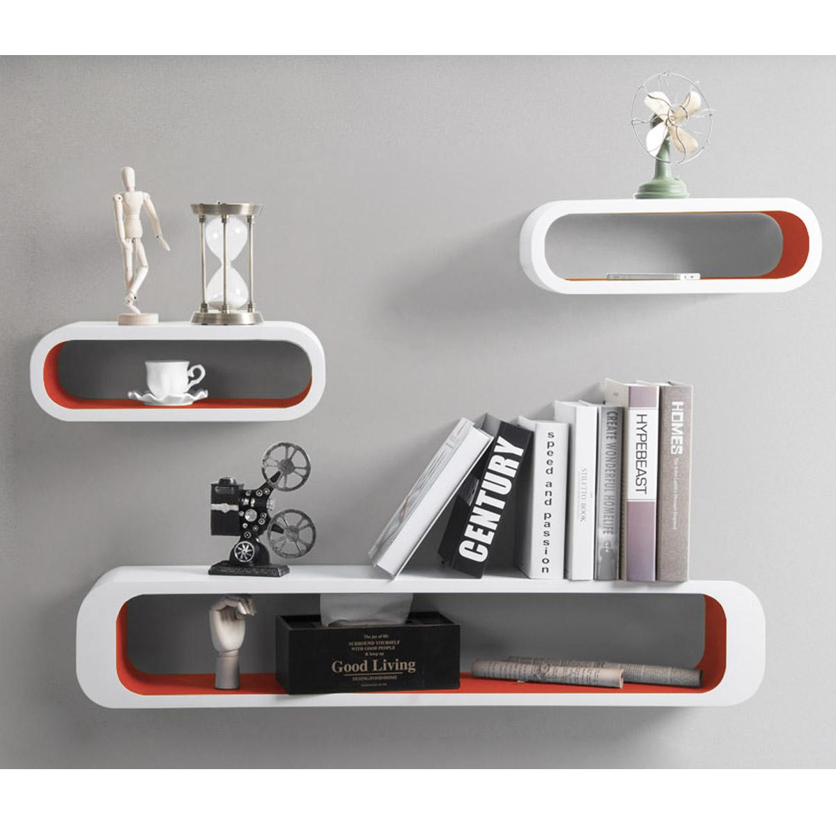 Floating Wall Shelf Shelves Storage Lounge Cube Mounted