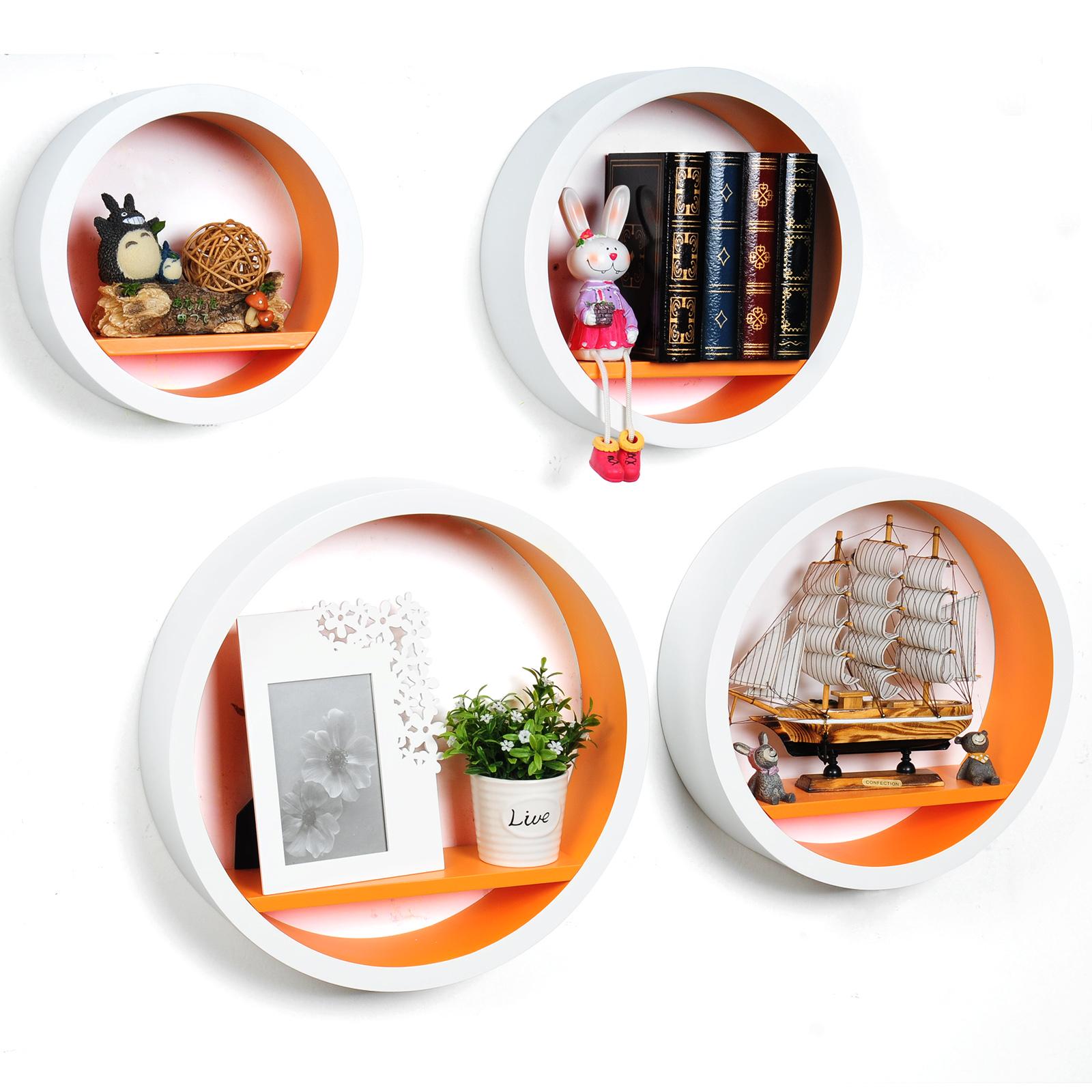 Lot-de-4-Etagere-murale-en-MDF-etagere-CD-DVD-murale-etagere-a-livres-f059