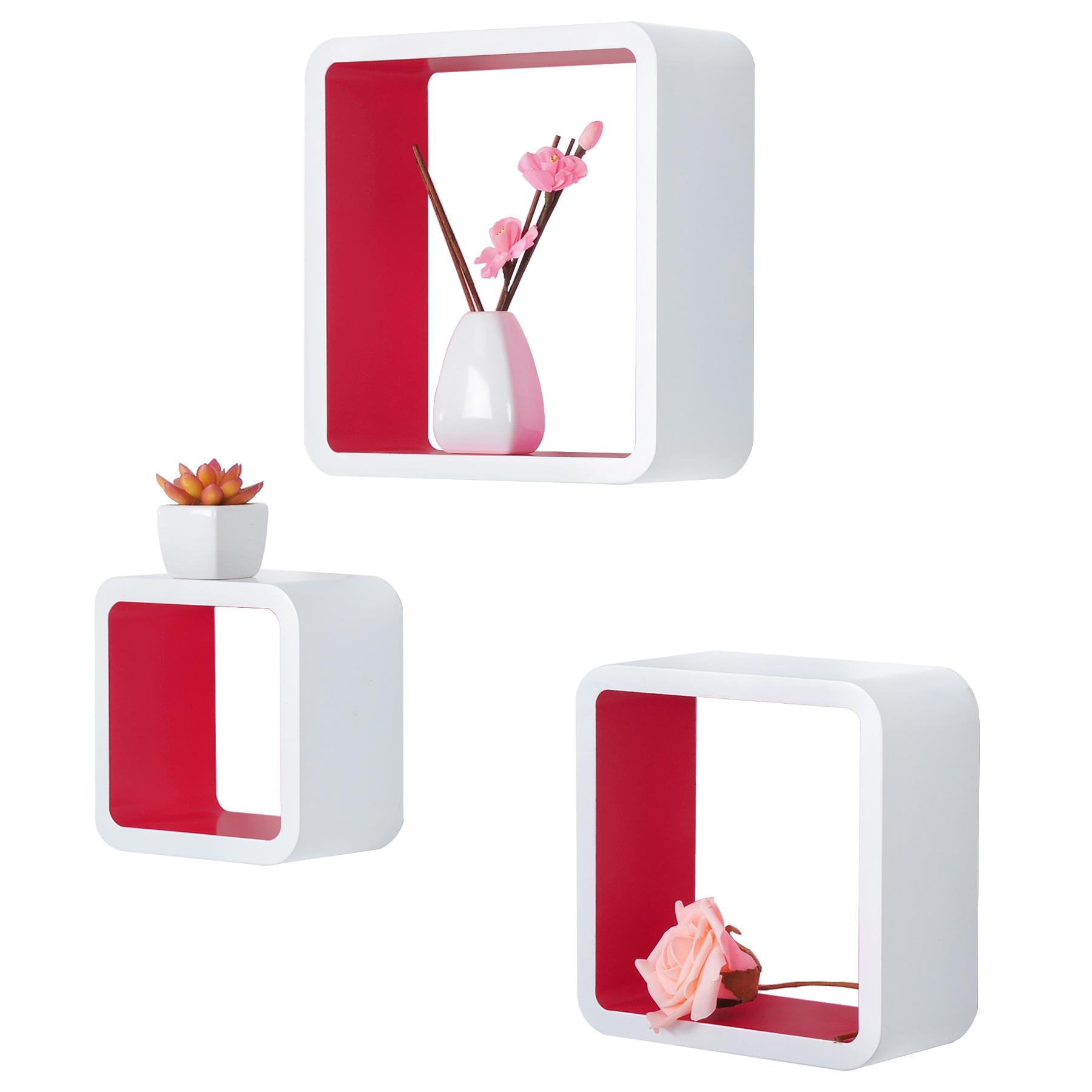 Wall Shelf Floating Shelves Storage Lounge Cube Mount