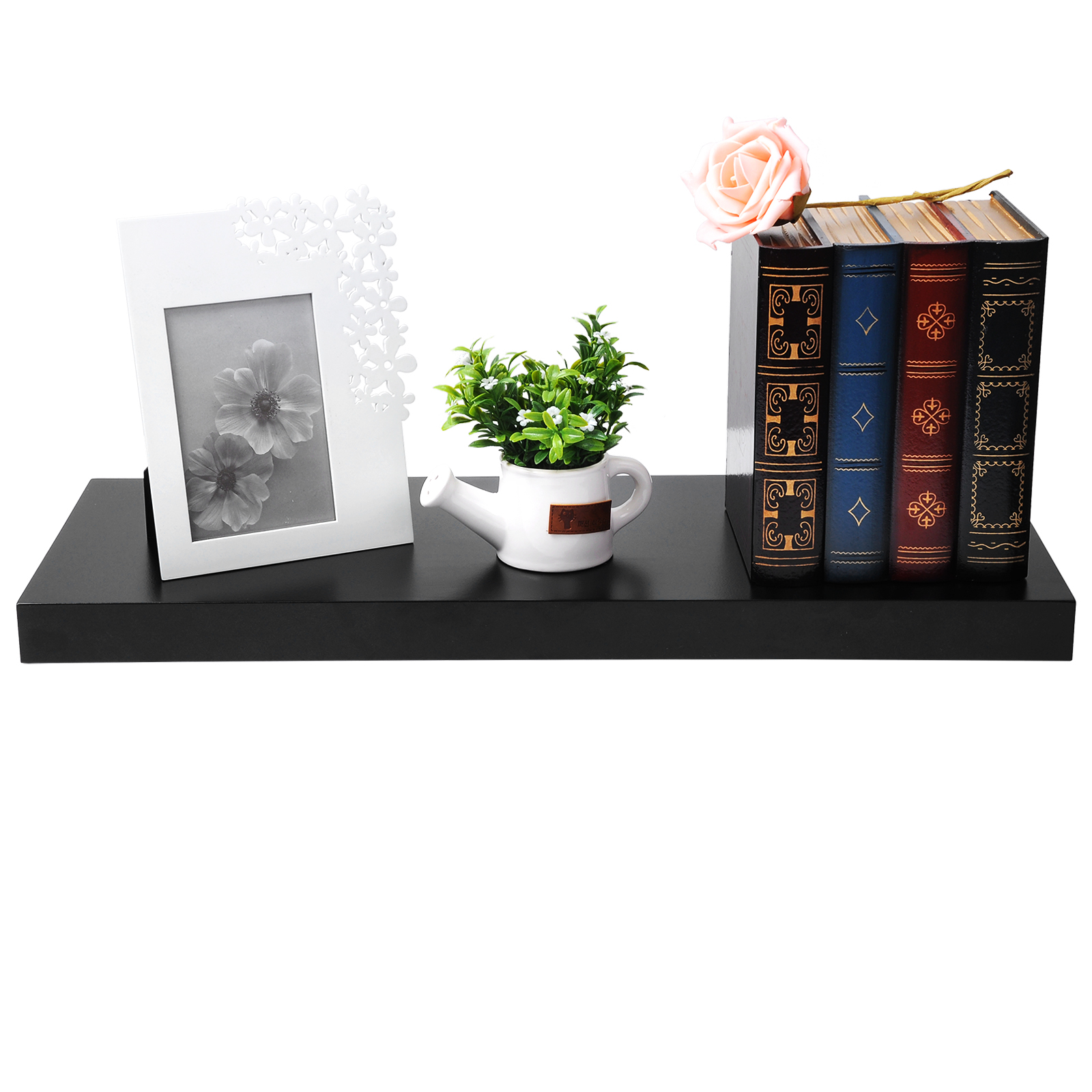 tag re murale pour livres cd dvd bonsai de tag res de mini petit pot f111 ebay. Black Bedroom Furniture Sets. Home Design Ideas