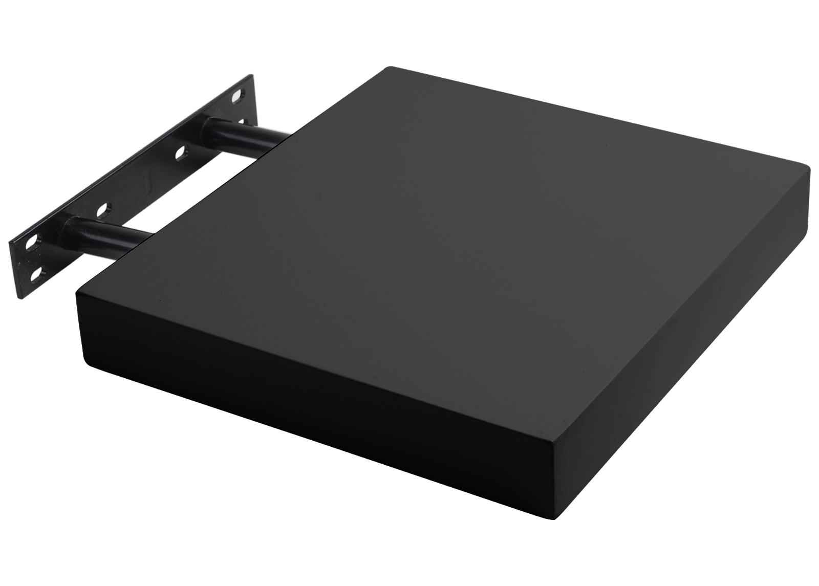 woltu wandregal wandboard buchregal h ngeregal dvd regal schwarz 30cm rg9261sz ebay. Black Bedroom Furniture Sets. Home Design Ideas