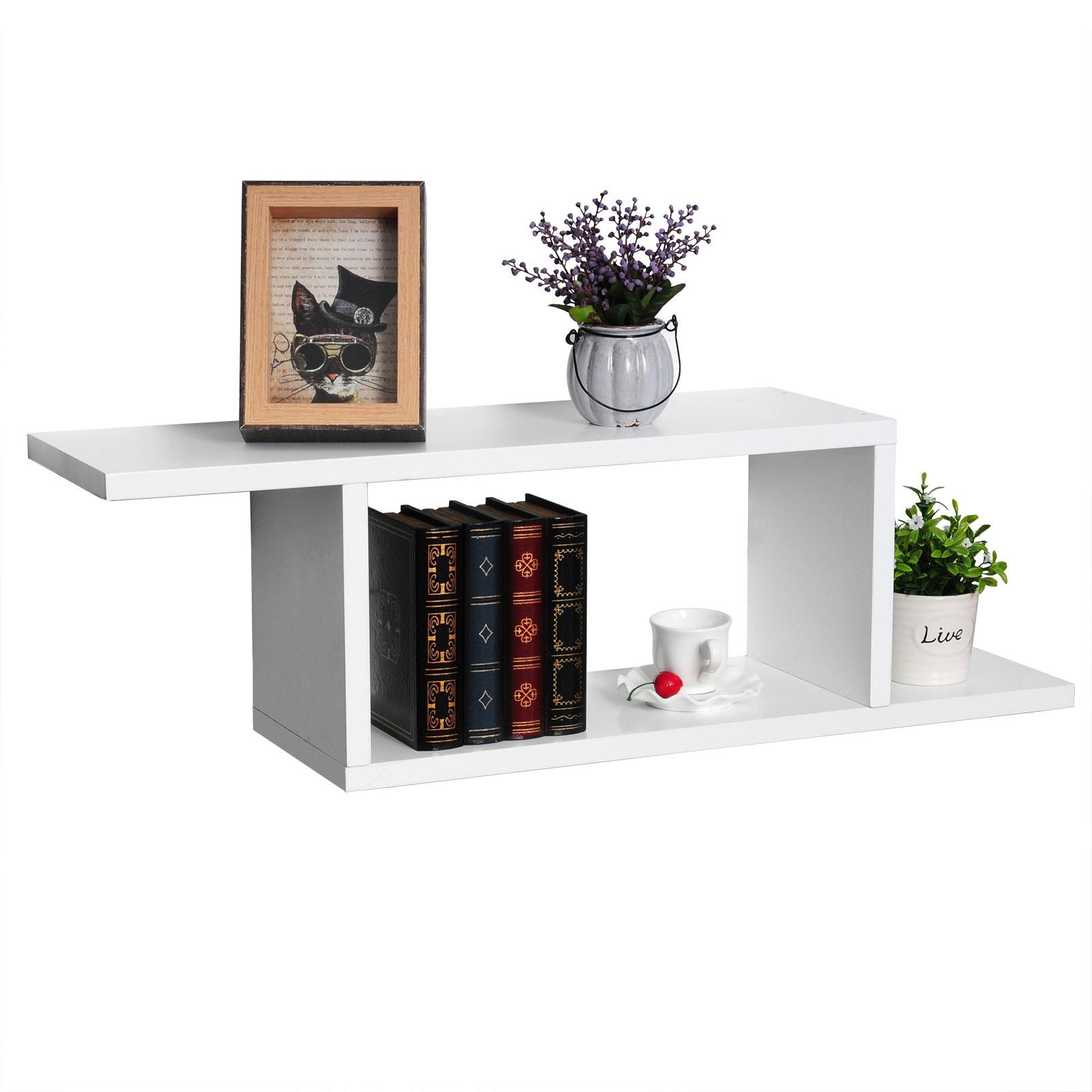 wandregal set b cheregal h ngeregal cd dvd regal mdf. Black Bedroom Furniture Sets. Home Design Ideas
