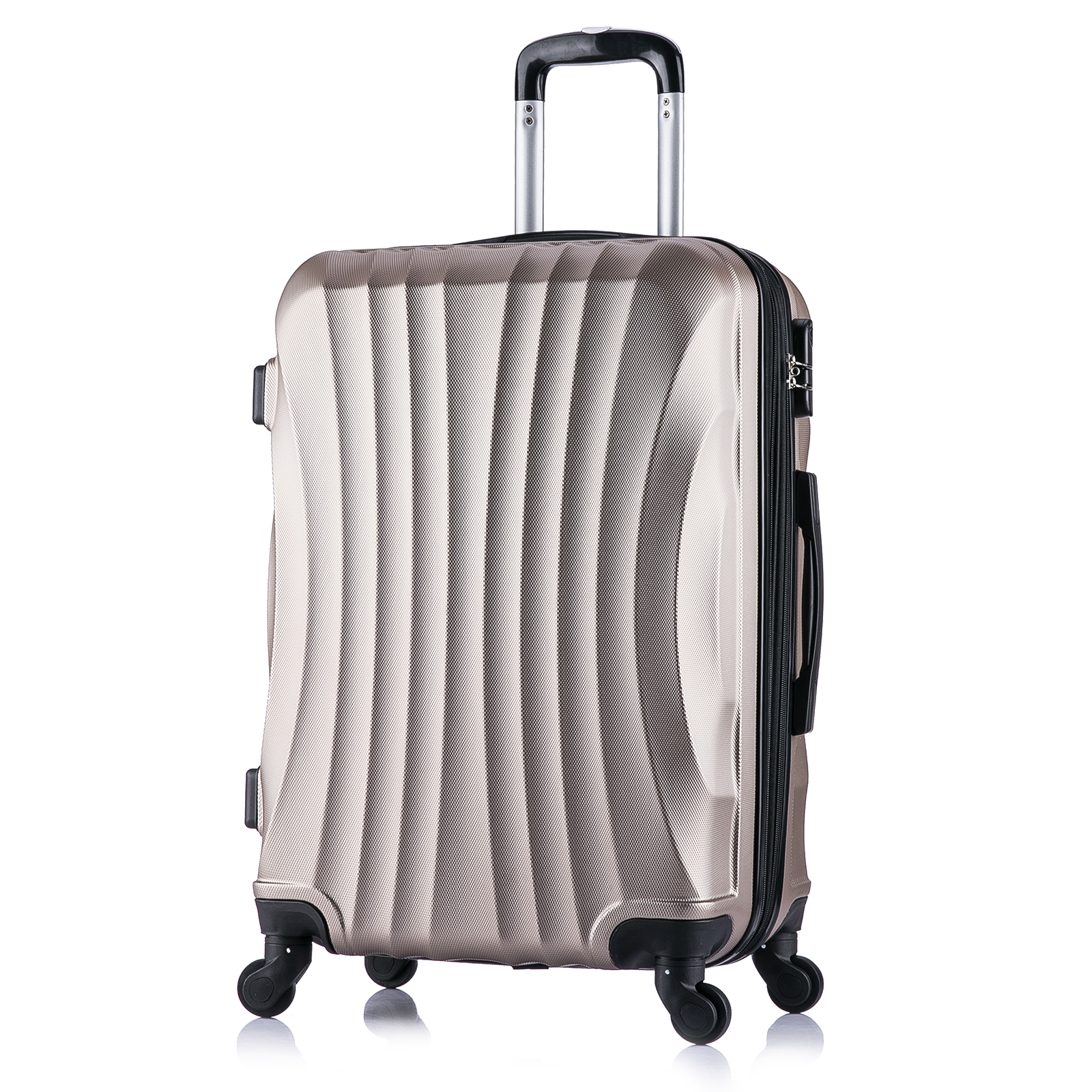 koffer trolley reisekoffer hartschalenkoffer handgep ck m. Black Bedroom Furniture Sets. Home Design Ideas