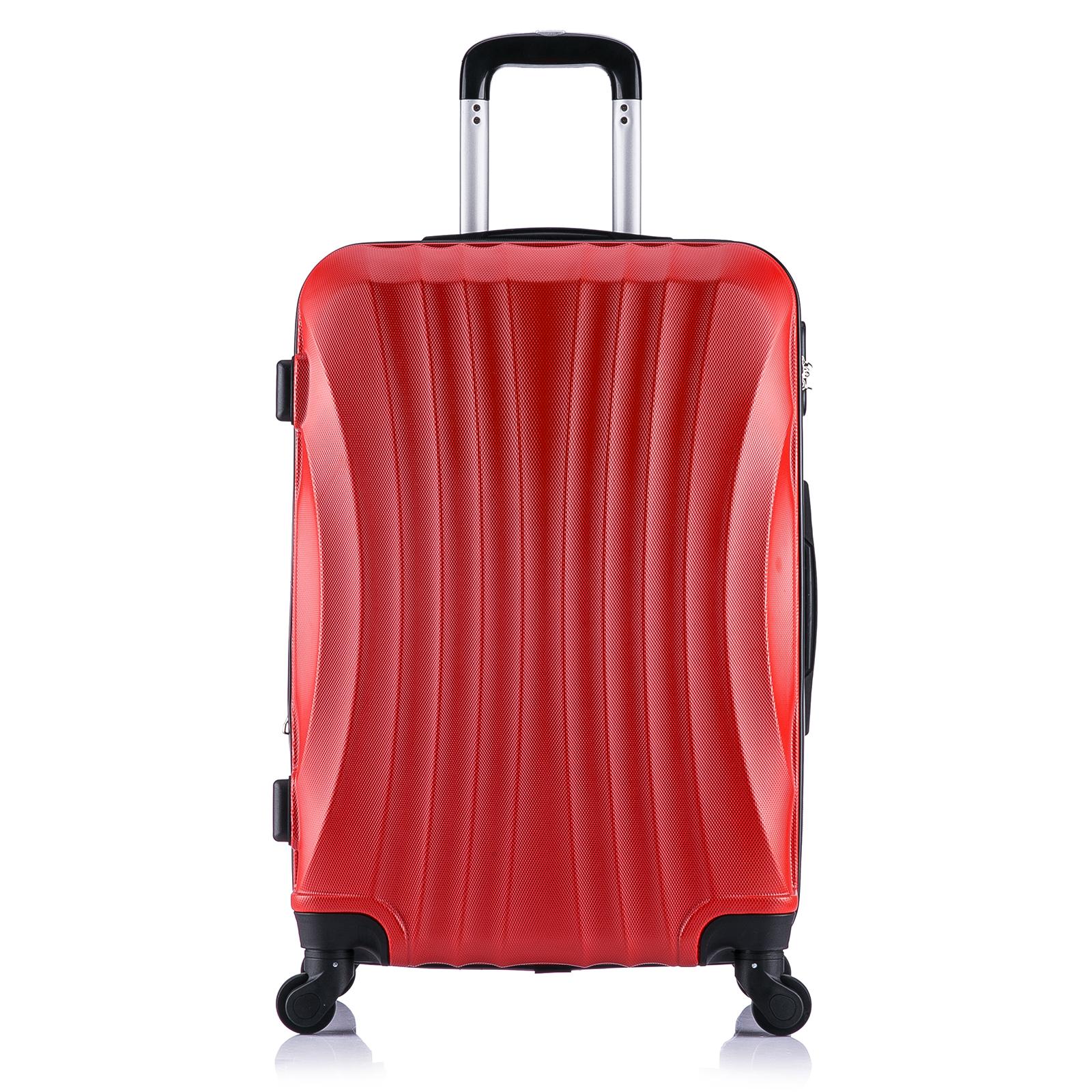 koffer trolley reisekoffer hartschalenkoffer handgep ck m mit 4 rollen 467 1 ebay. Black Bedroom Furniture Sets. Home Design Ideas