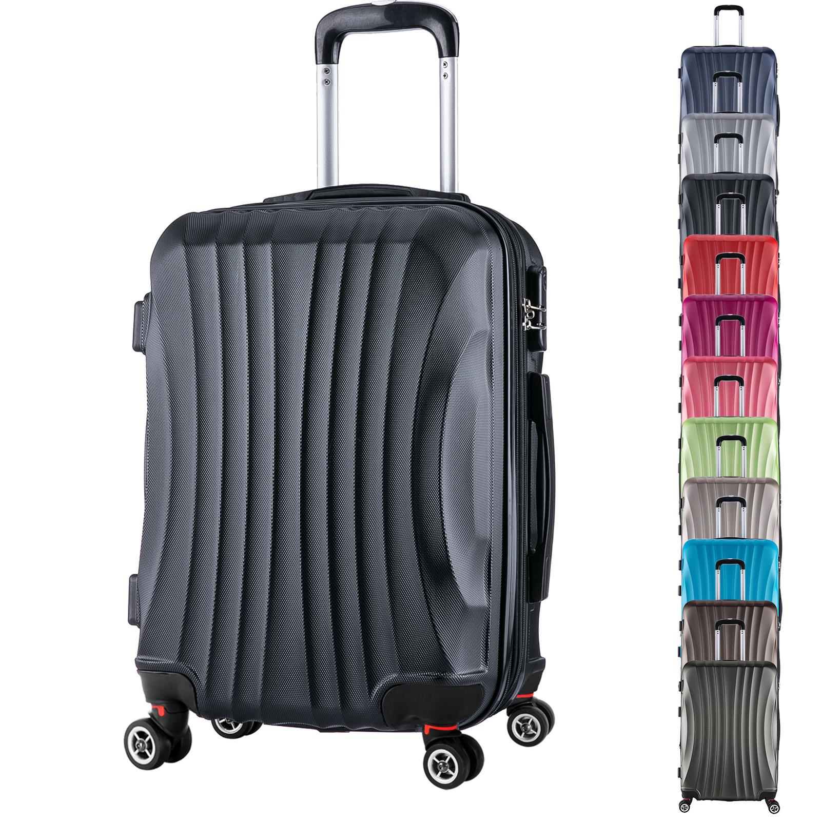 koffer trolley reisekoffer hartschalenkoffer handgep ck xl. Black Bedroom Furniture Sets. Home Design Ideas