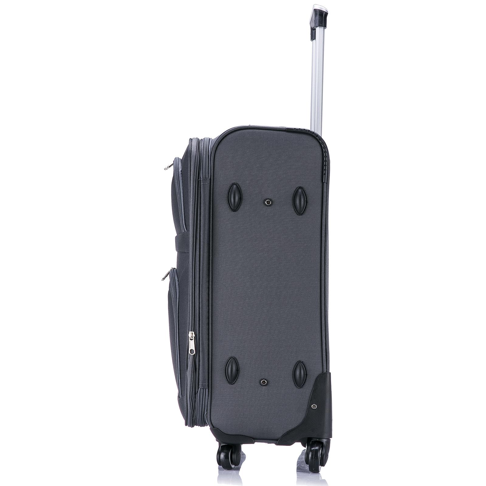 koffer trolley weichgep ck reisekoffer stoff handgep ck. Black Bedroom Furniture Sets. Home Design Ideas