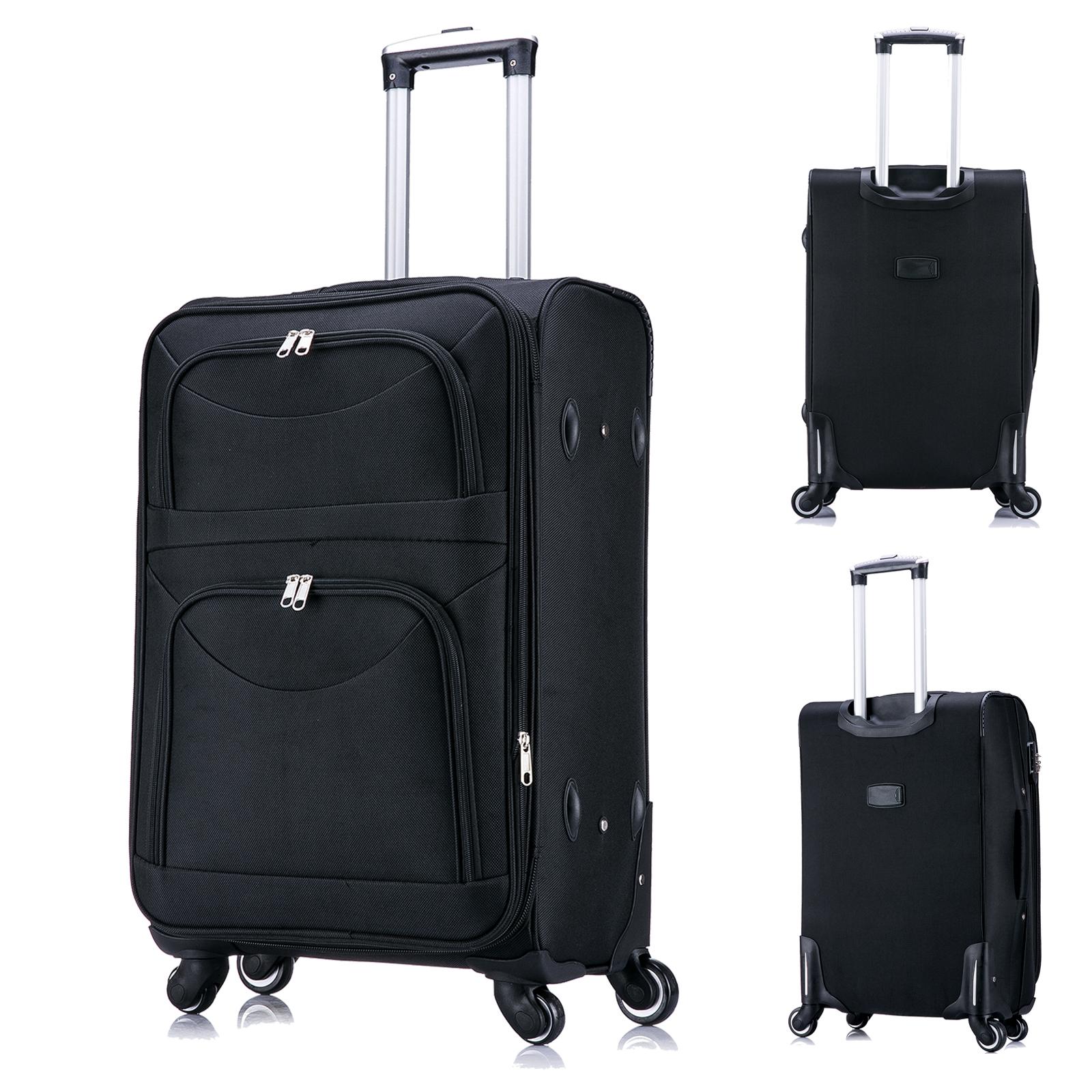 reisekoffer weichschale koffer trolley stoff handgep ck m. Black Bedroom Furniture Sets. Home Design Ideas