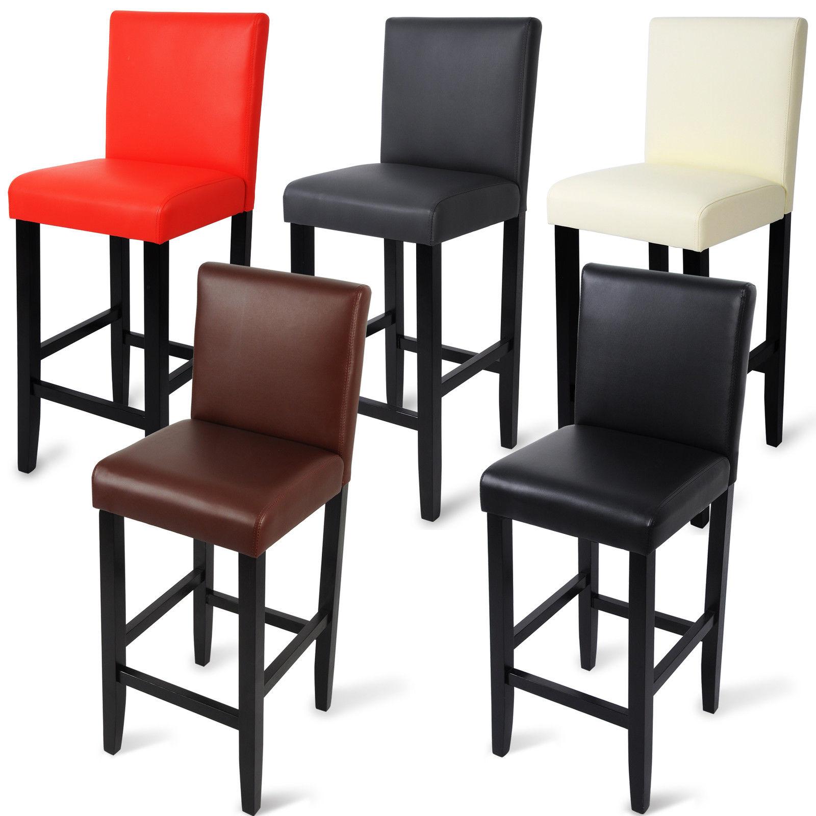 Table De Cuisine Moderne Ikea :  avec dossier en bois Chaise cuisine en cuir synthétique f023  eBay