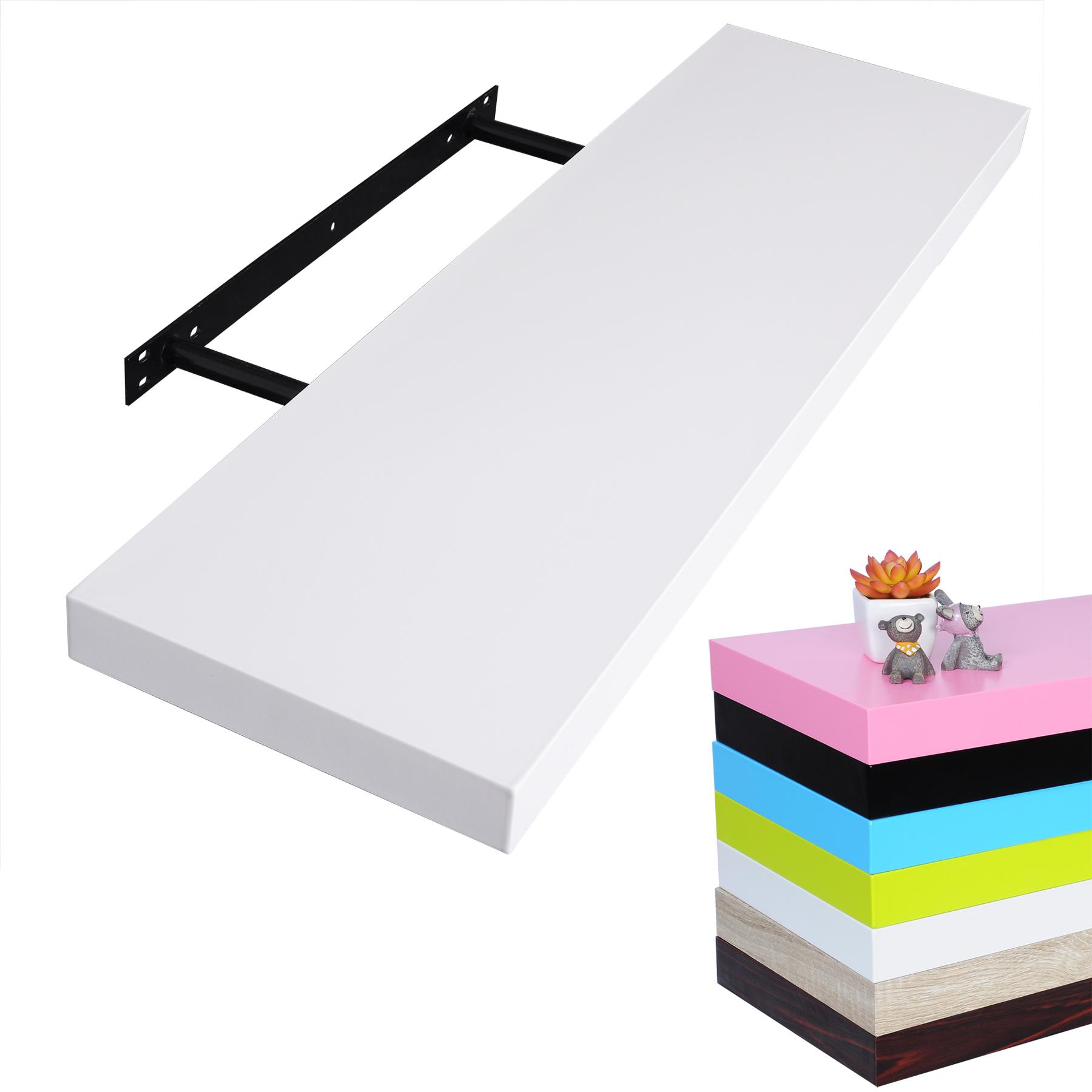 wandboard wandregal b cherregal h ngeregal dvd cd holzregal freischwebend 349 ebay. Black Bedroom Furniture Sets. Home Design Ideas