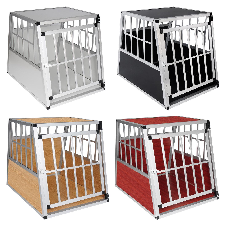 hundebox hundetransportbox transportbox autotransportbox gitterbox alu eht431 ebay. Black Bedroom Furniture Sets. Home Design Ideas