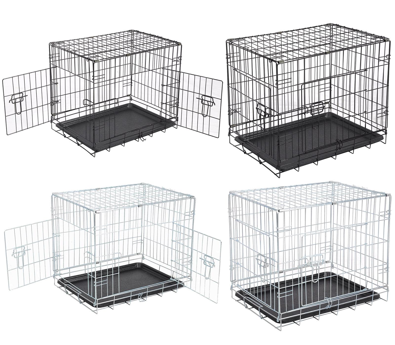 Faltbar Hundetransportbox Hundebox Auto Hundekäfig Drahtkäfig ...