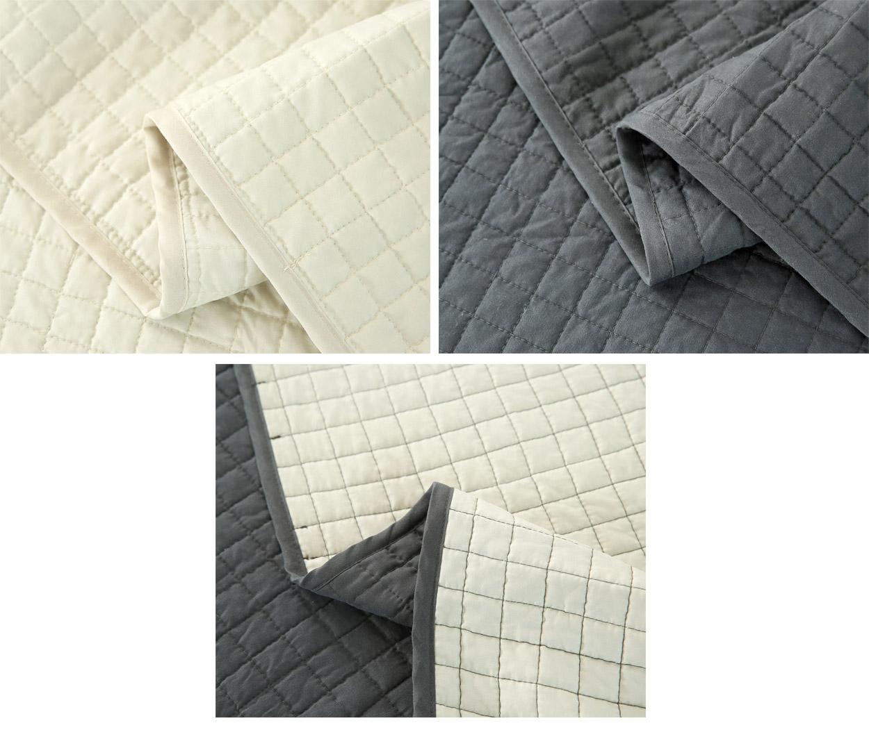 tagesdecke steppdecke bett berwurf patchwork kariert. Black Bedroom Furniture Sets. Home Design Ideas