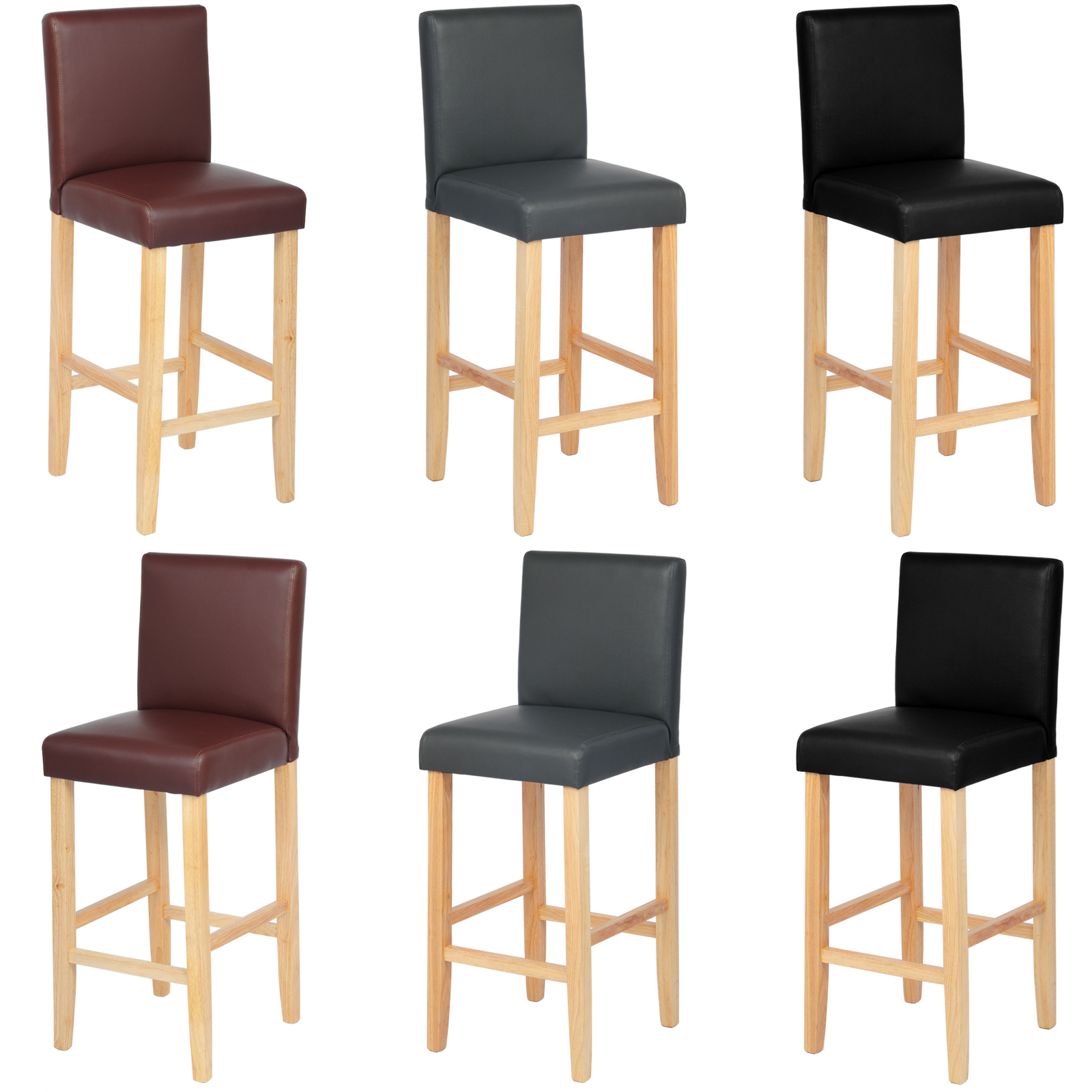 haut tabouret de bar avec dossier haut chaise de bar en. Black Bedroom Furniture Sets. Home Design Ideas