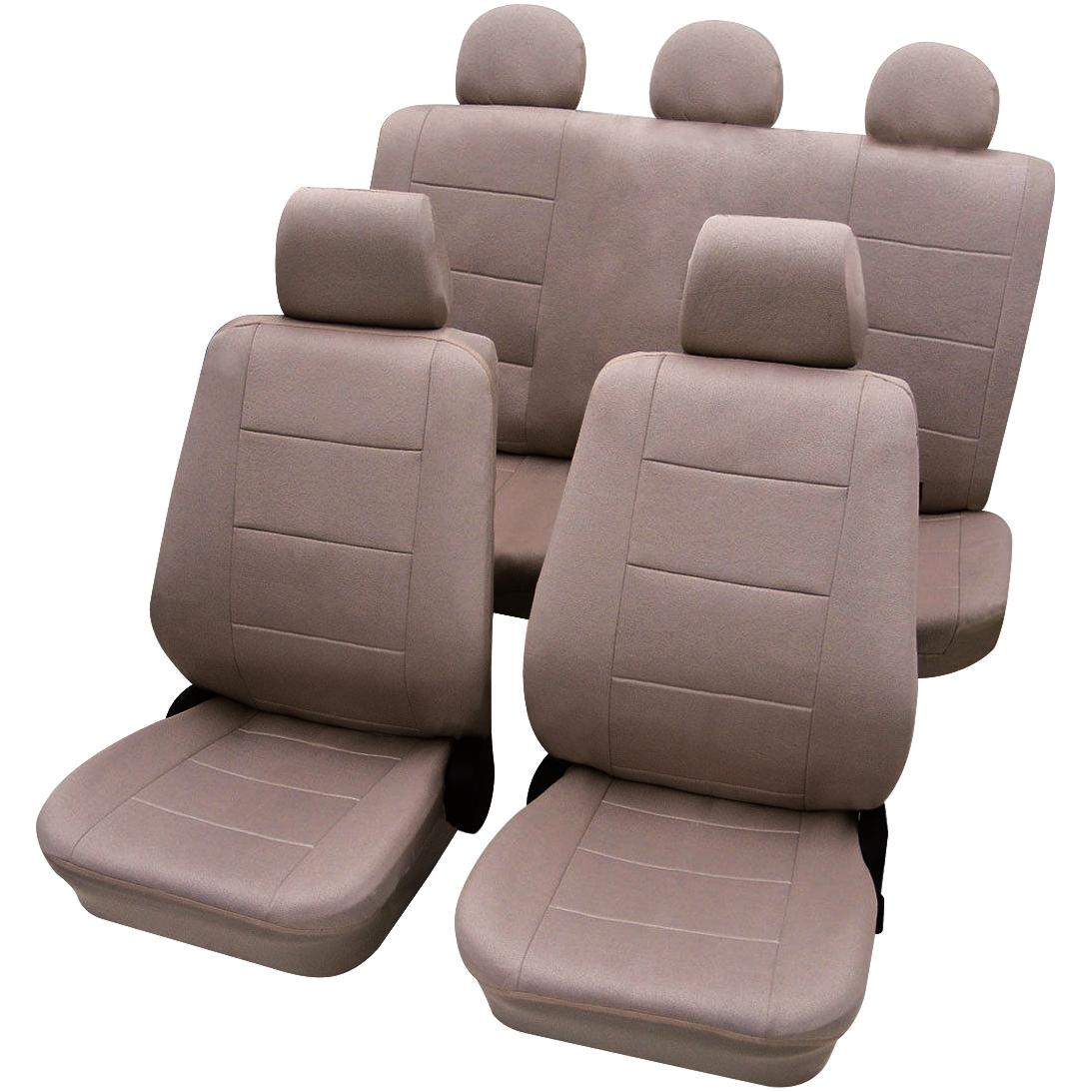 auto sitzbez ge sitzbezug schonbez ge schonbezug schoner universal farbwahl 282 ebay. Black Bedroom Furniture Sets. Home Design Ideas