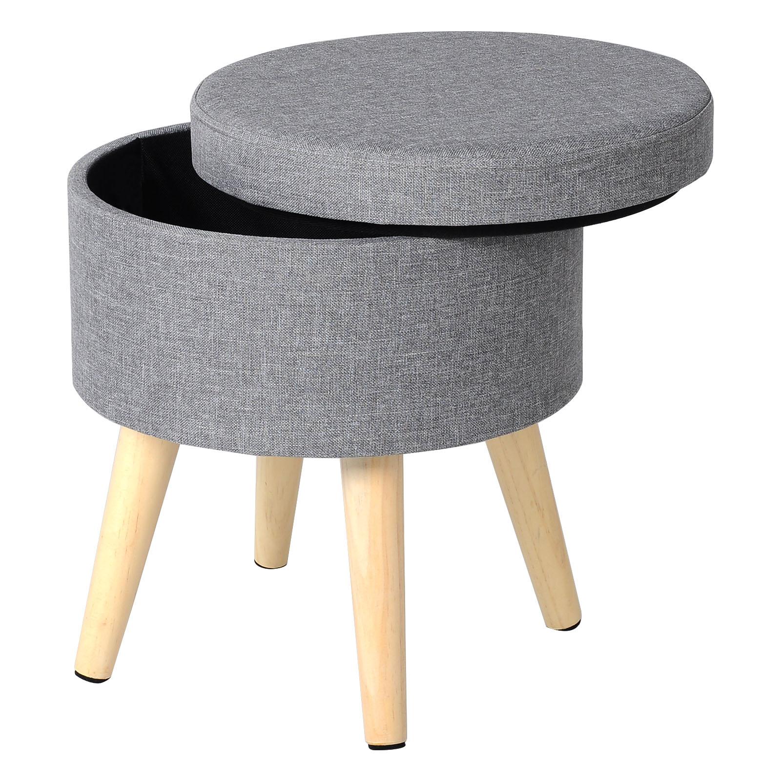 sitzhocker sitzbank mit stauraum fu hocker aufbewahrungsbox sitztruhe stuhl e228 ebay. Black Bedroom Furniture Sets. Home Design Ideas
