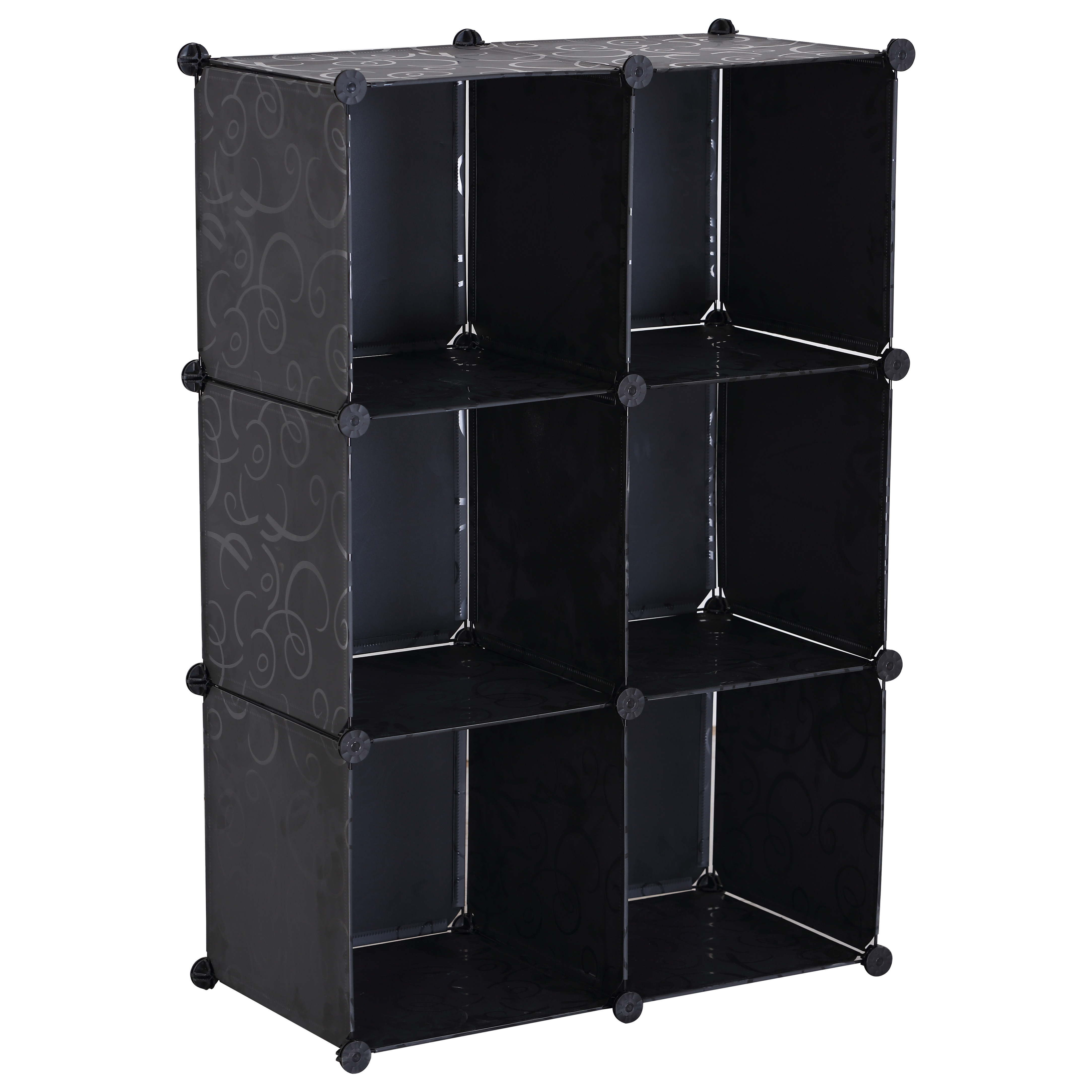 kleiderschrank garderobenschrank diy steckregal ohne t r regal schrank sr0014ot ebay. Black Bedroom Furniture Sets. Home Design Ideas
