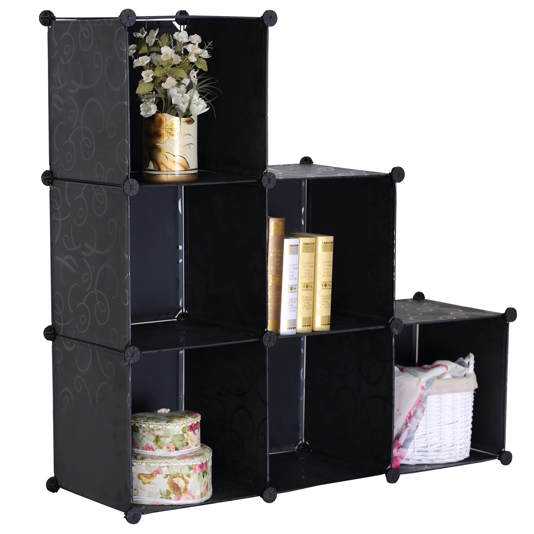 kleiderschrank kunststoff garderobenschrank steckregal. Black Bedroom Furniture Sets. Home Design Ideas