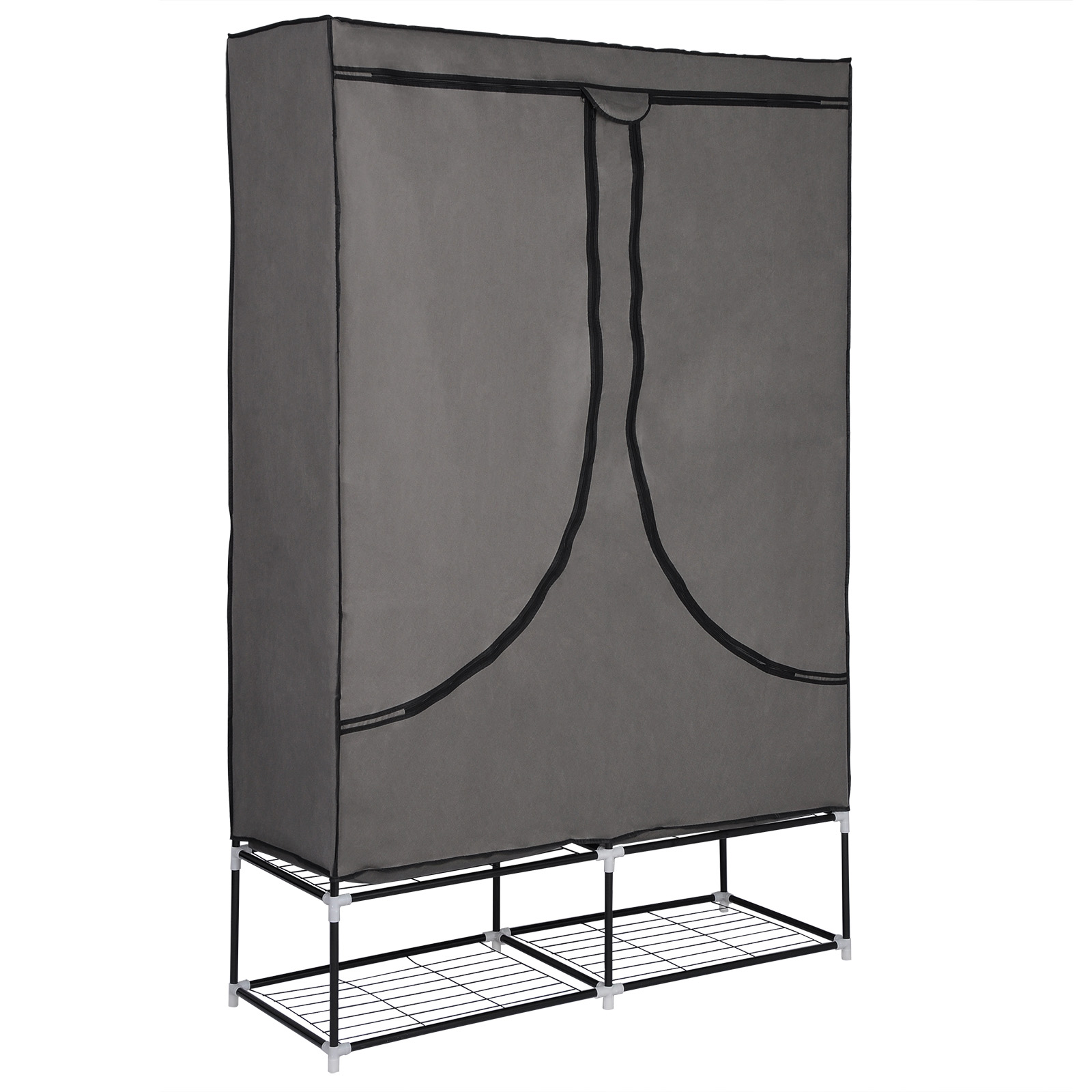kleiderst nder kleiderstange garderobenst nder ablage korb w schesammler sr0029. Black Bedroom Furniture Sets. Home Design Ideas