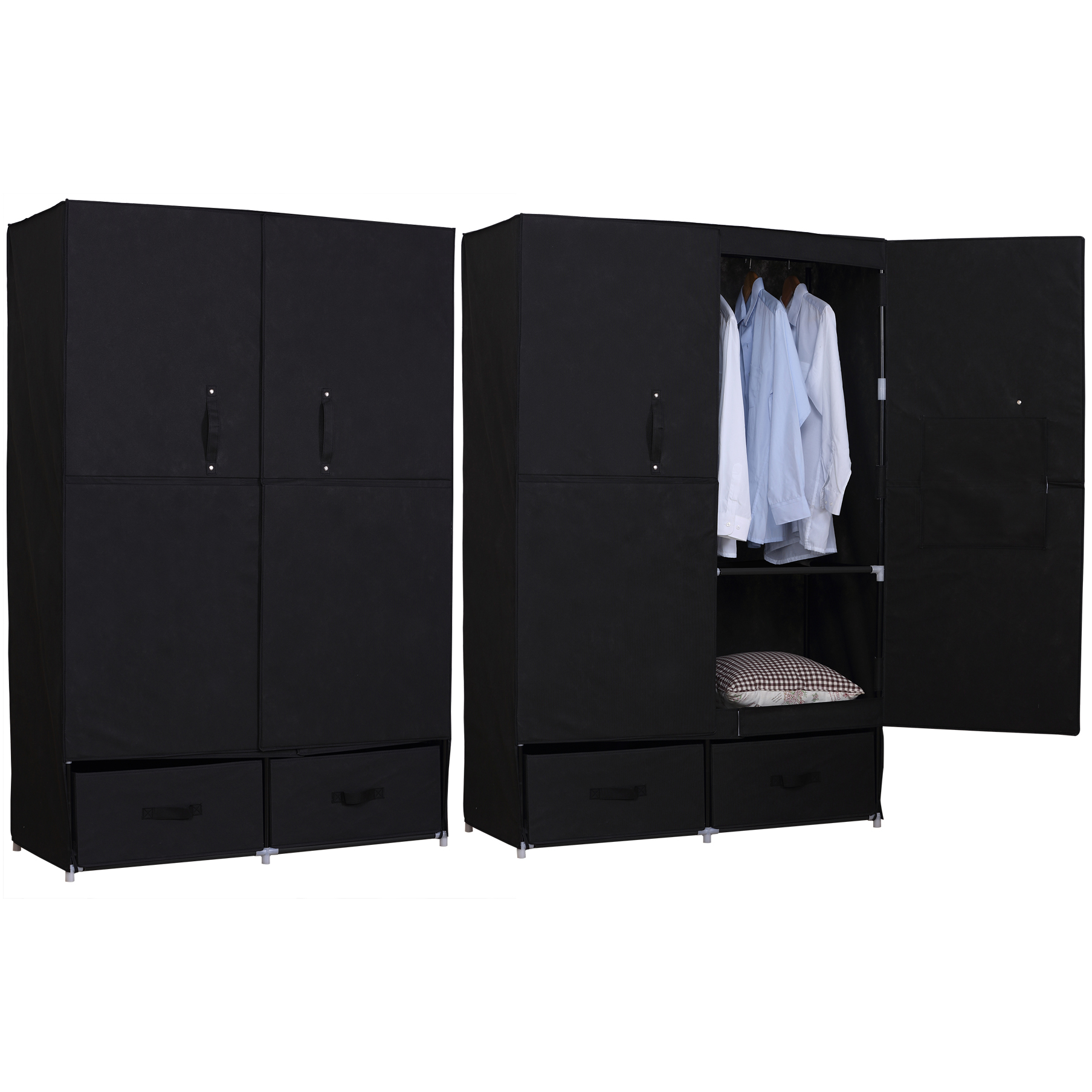 kleiderschrank stoff kleiderschrank stoff kaufen sie auf. Black Bedroom Furniture Sets. Home Design Ideas
