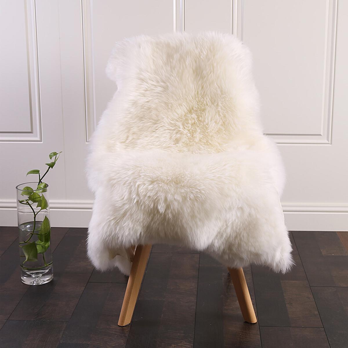 ko lammfell teppich schaffell sofa matte echtes fell barhocker geeignet 833 ebay. Black Bedroom Furniture Sets. Home Design Ideas