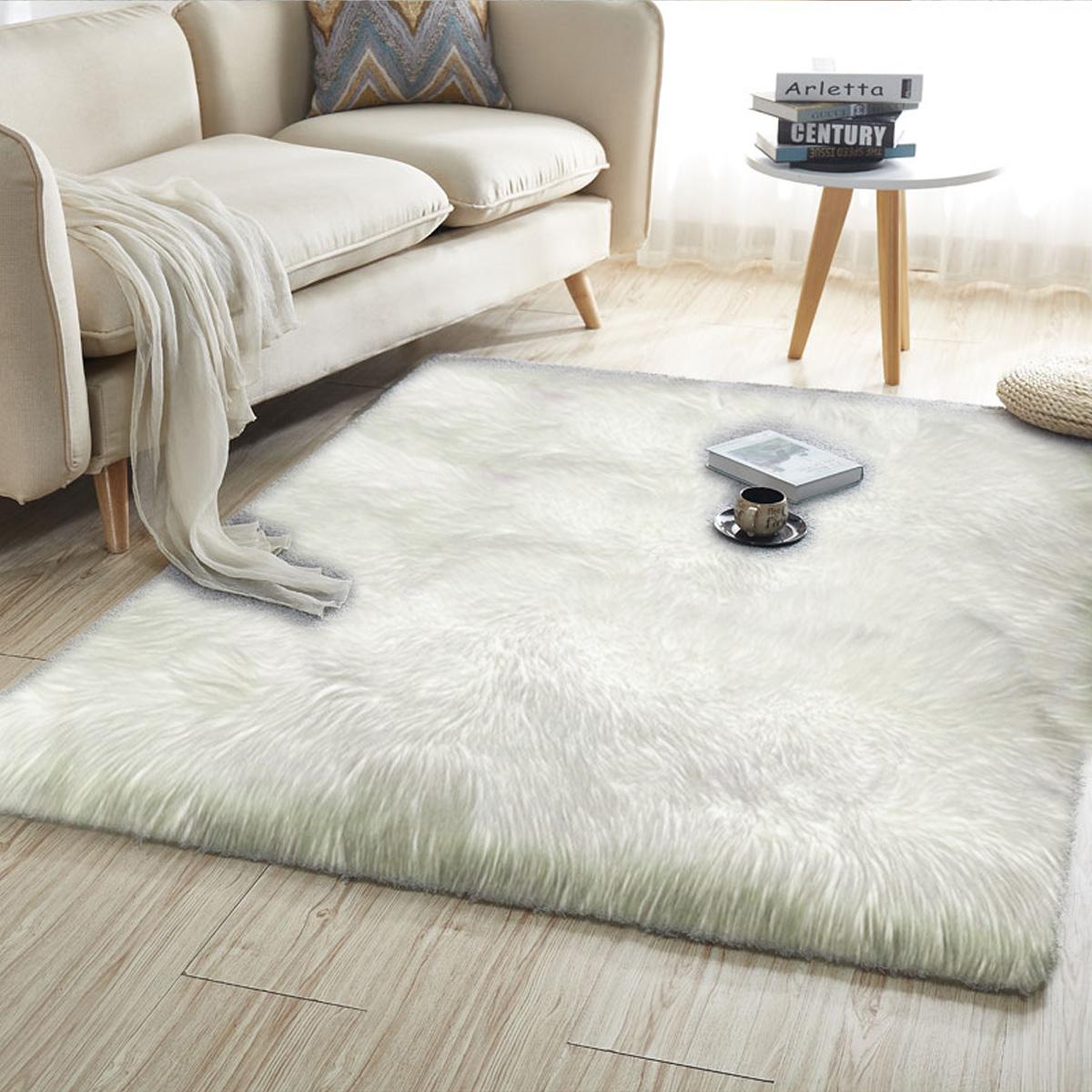 ko faux lammfell schaffell teppich sofa matte fell naturfell viele modelle tp v ebay. Black Bedroom Furniture Sets. Home Design Ideas