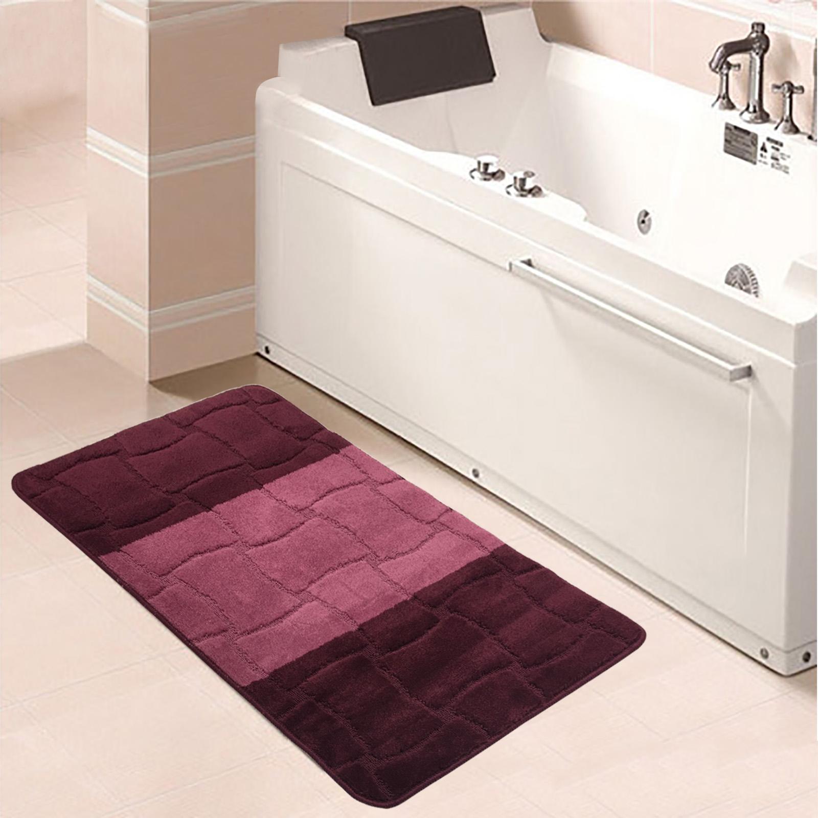 badematte badteppich badzimmer matten rutschfest 50x80. Black Bedroom Furniture Sets. Home Design Ideas