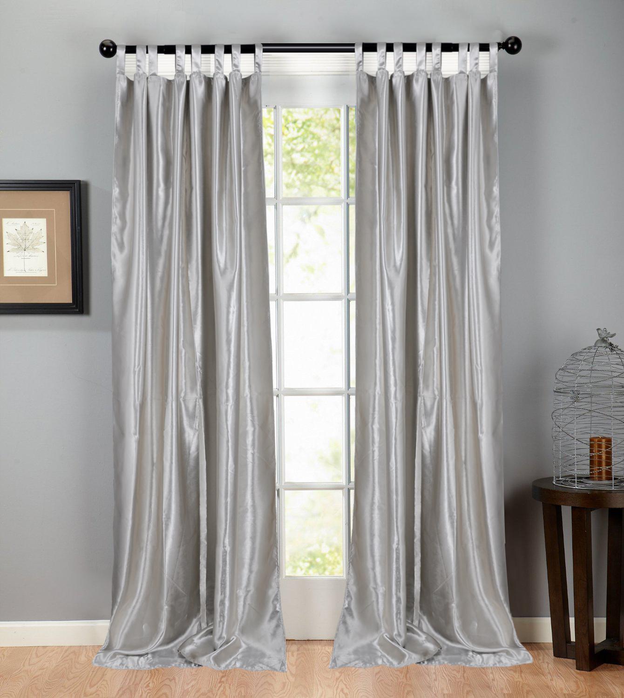 gardine vorhang verdunklungsgardine mit sen blickdicht 6 farben 140x245cm 124 ebay. Black Bedroom Furniture Sets. Home Design Ideas