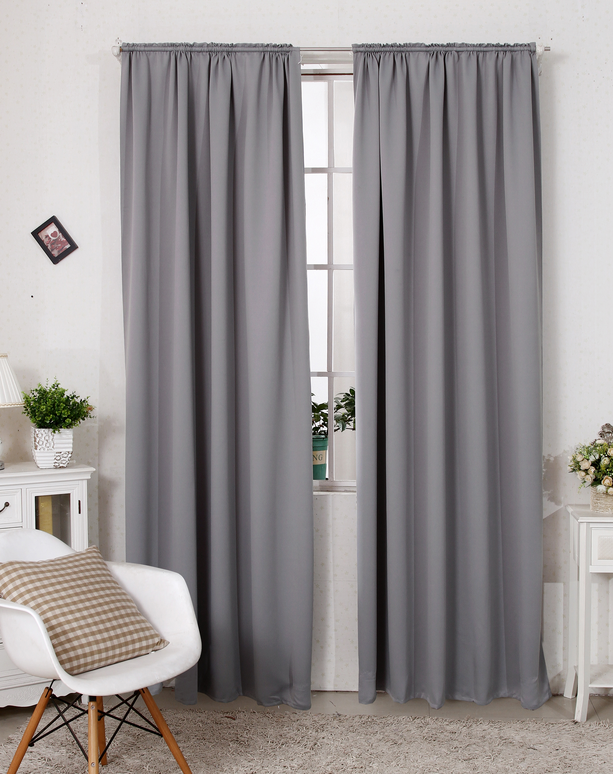 verdunklungsgardine thermogardine kr uselband blickdicht. Black Bedroom Furniture Sets. Home Design Ideas