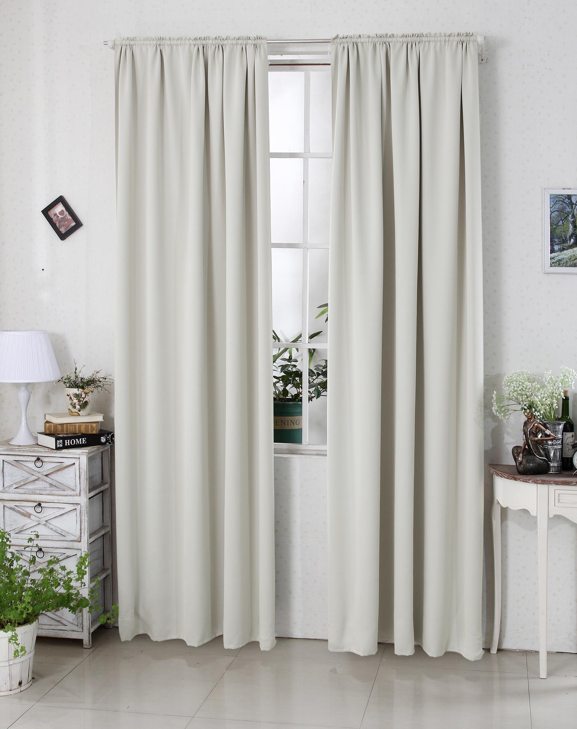 verdunklungsvorhang thermogardine kr uselband blickdicht gardine 140x245 cm 191 ebay. Black Bedroom Furniture Sets. Home Design Ideas