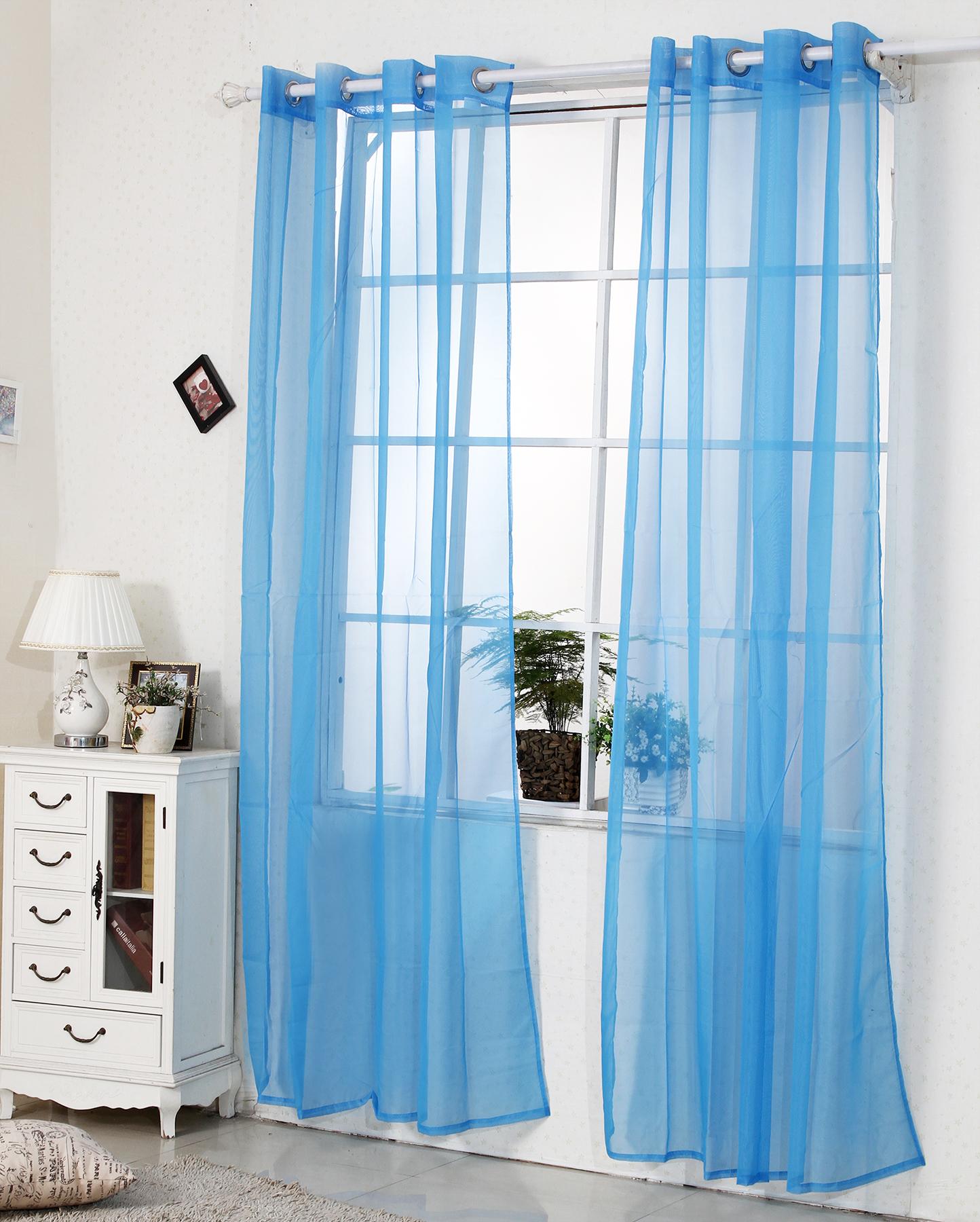 Gardine vorhang fensterschal transparent sen senschal for Osenvorhang kinderzimmer