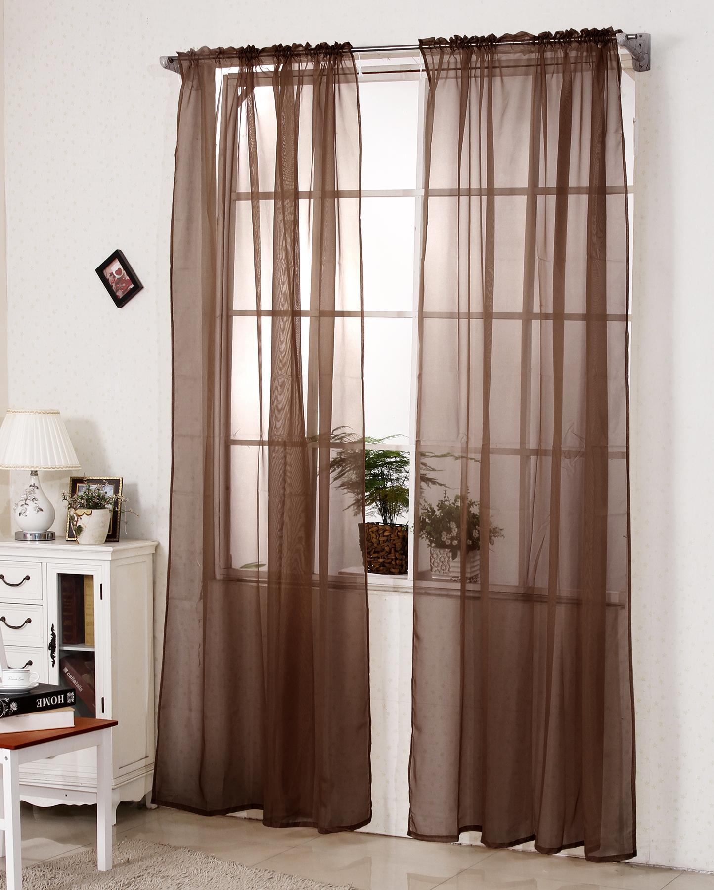 Gardinen Vorhang Stores Mit 50mm Kräuselband Transparent Dekoschal