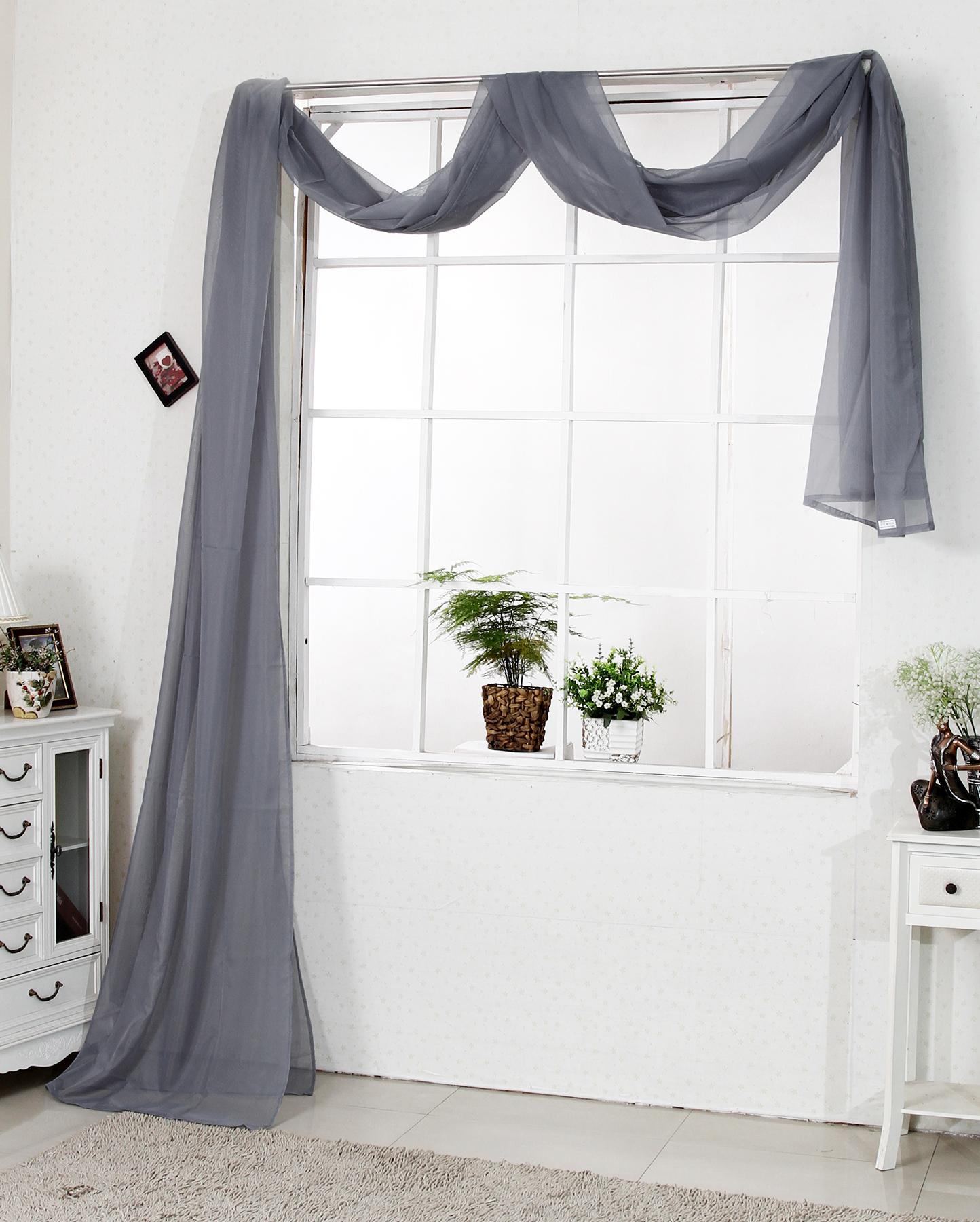 Querbehang raumteiler bergardinen gardinen vorh nge for Fenster querbehang
