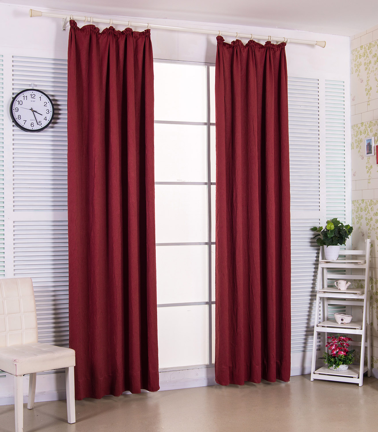 gardinen blickdicht vorhang kr uselband verdunkelung schal crush optik matt 699 ebay. Black Bedroom Furniture Sets. Home Design Ideas