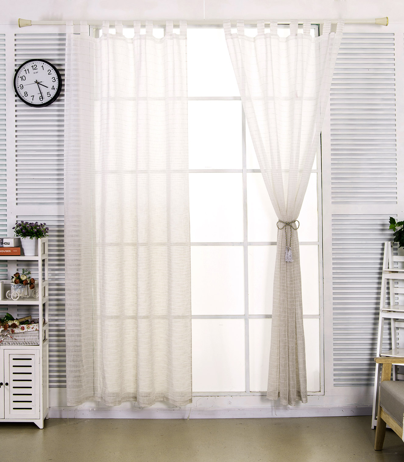 Einzigartig Gardinen Set Wohnzimmer Design