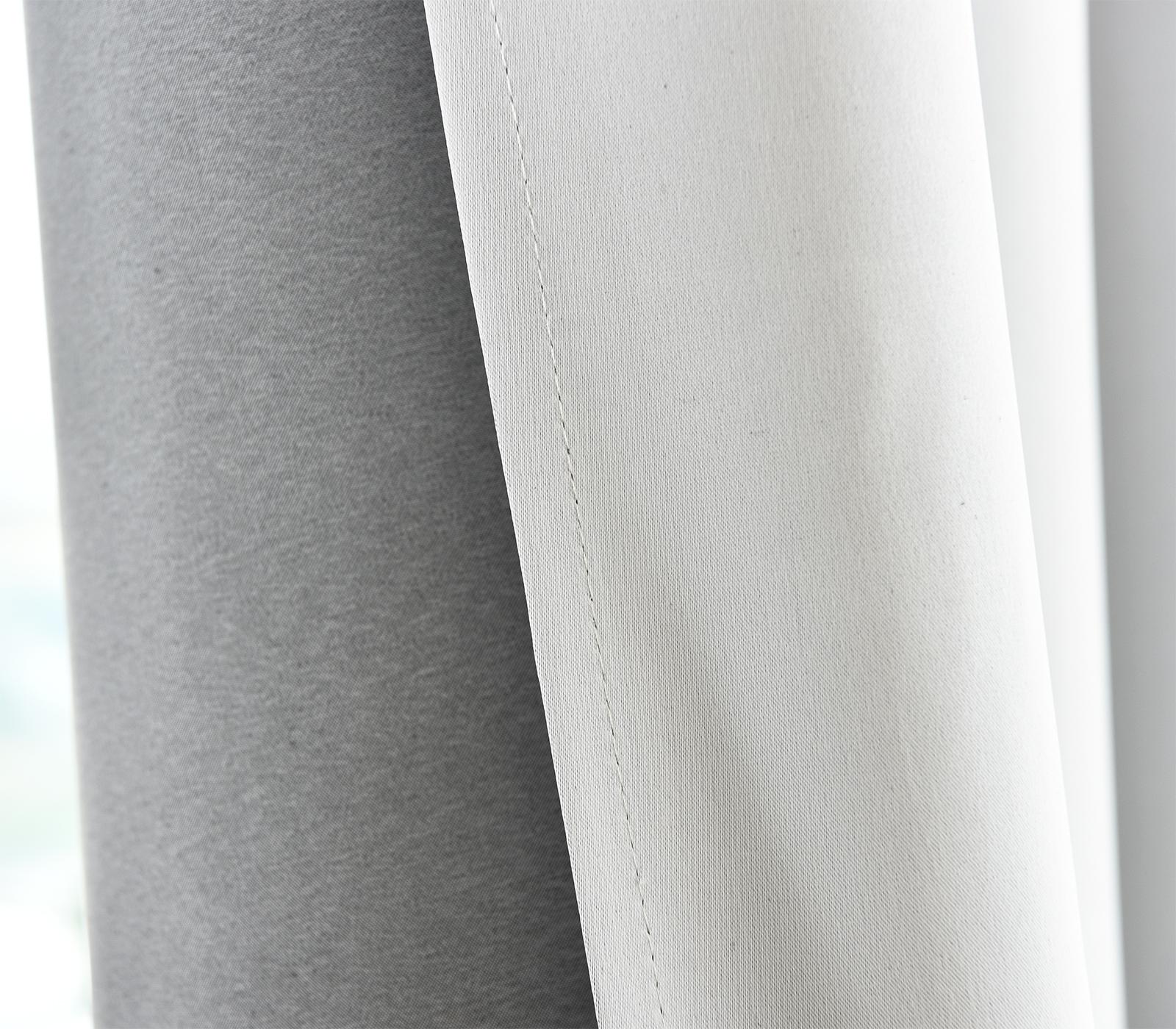 Rideaux rideau opaque œillets légèrement black-out rideaux Mat//Crush #488